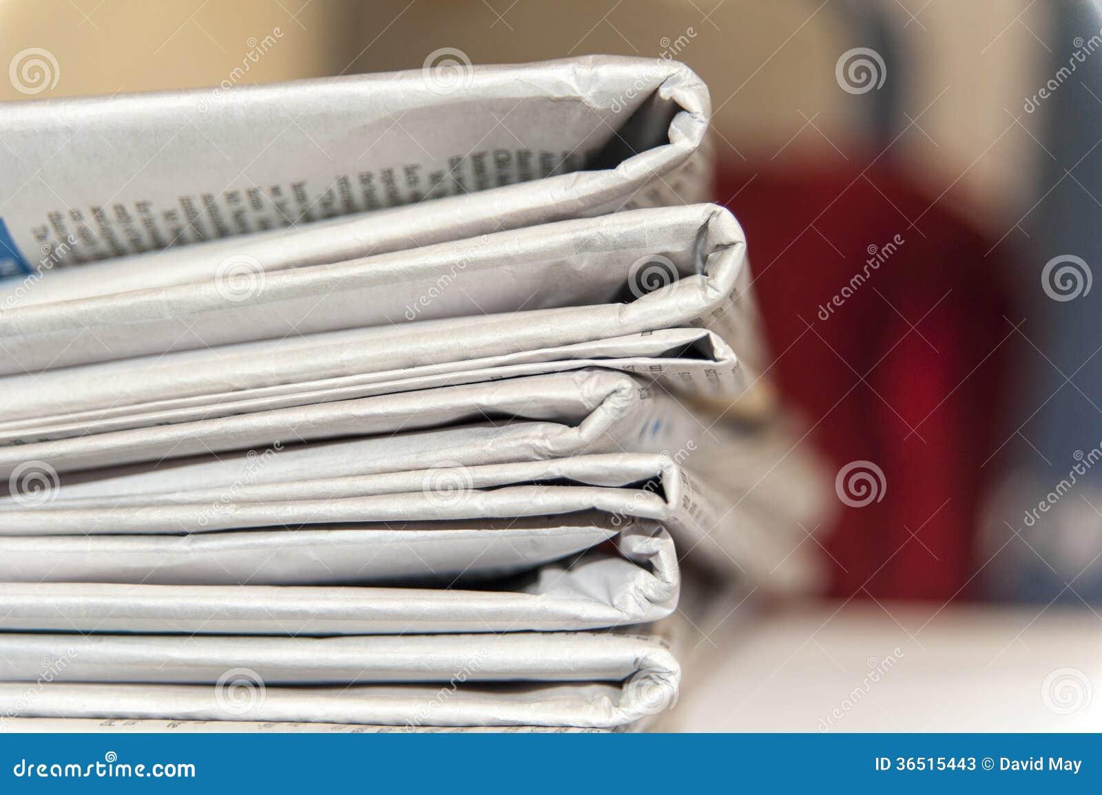 Papiers empilés