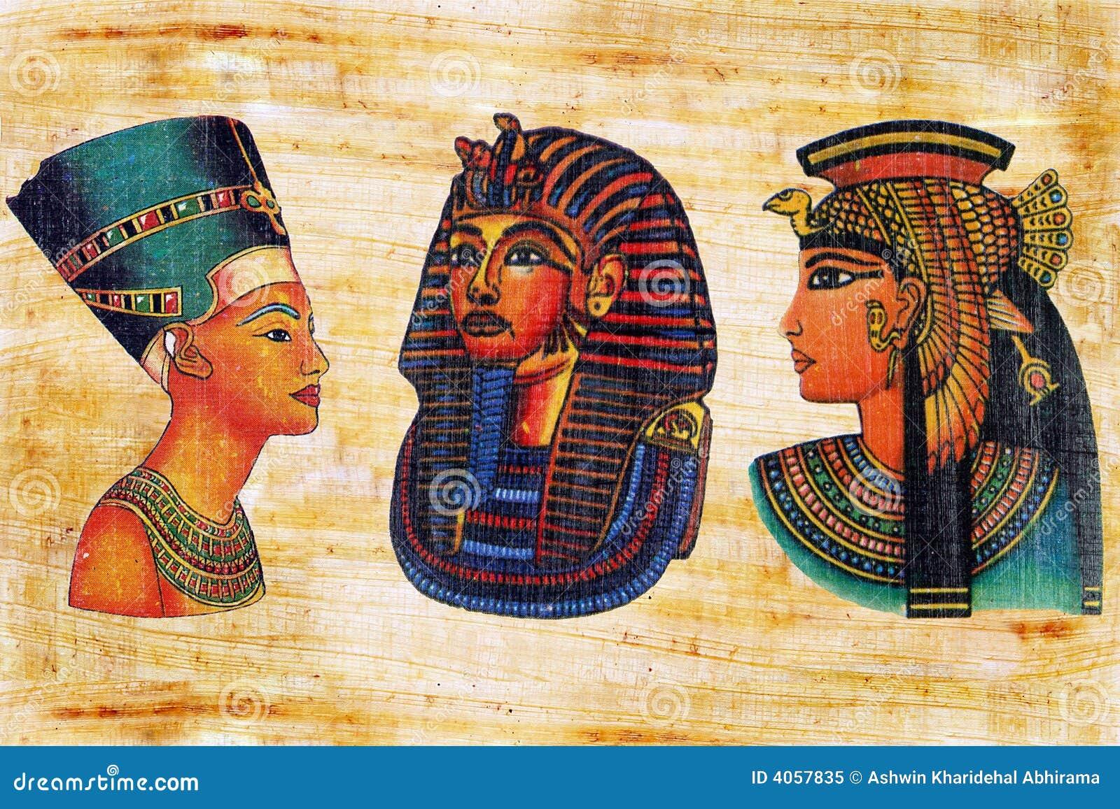 Papiro egípcio.