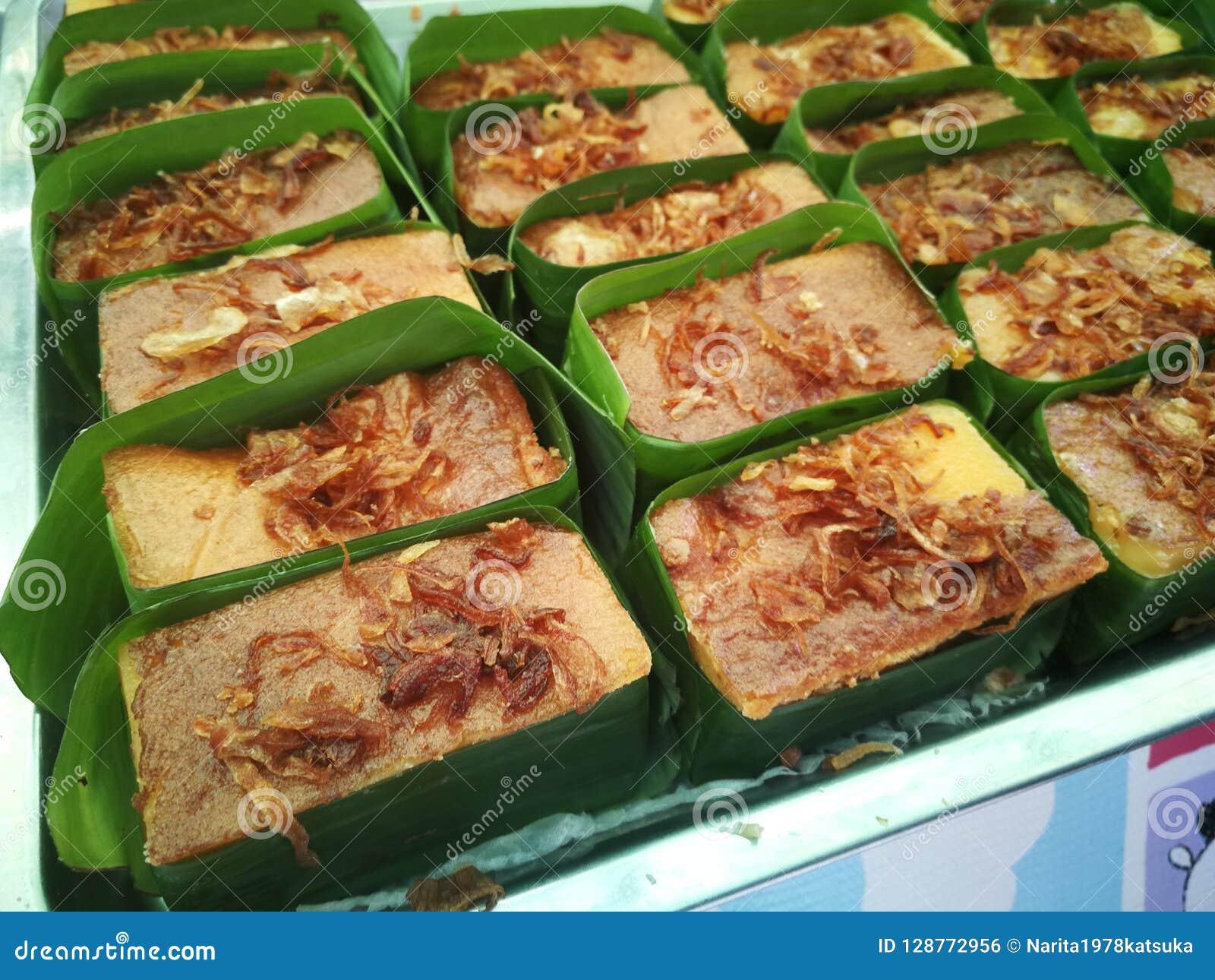 Papo Kaeng de Mung Bean Thai Custard Dessert Recipe Khanom