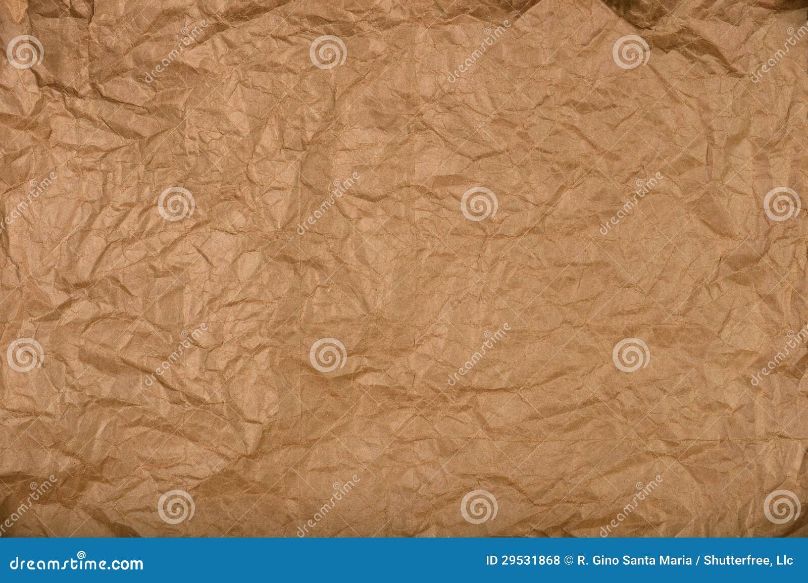 Pappers- bakgrund för brunt