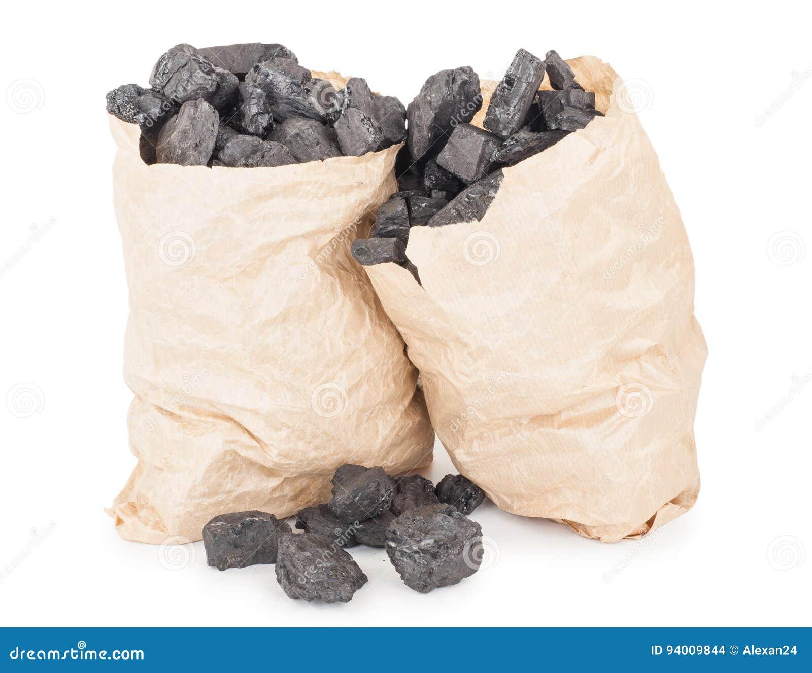 Pappers- påsar med kol