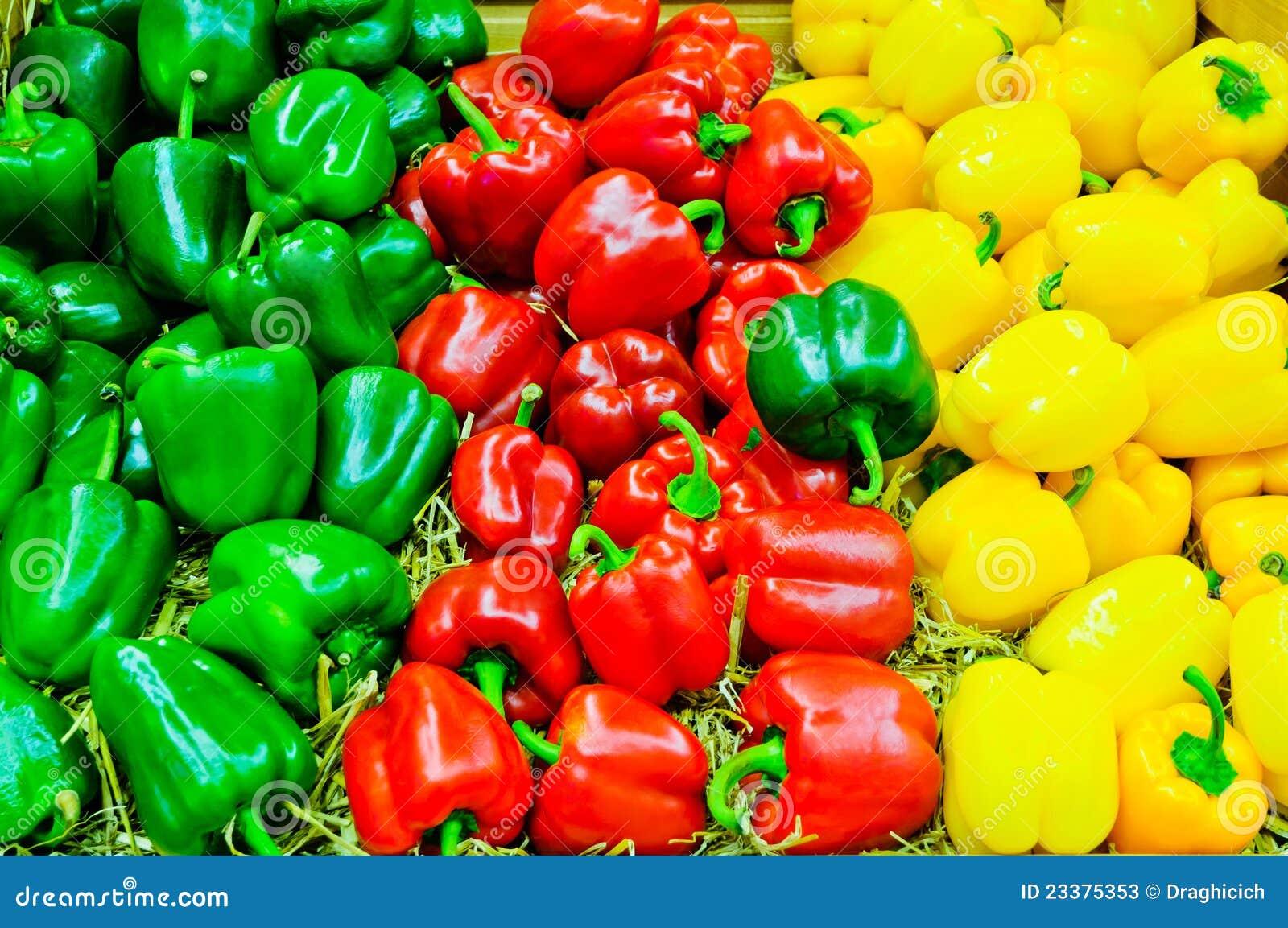 Paprica colorata del peperone dolce