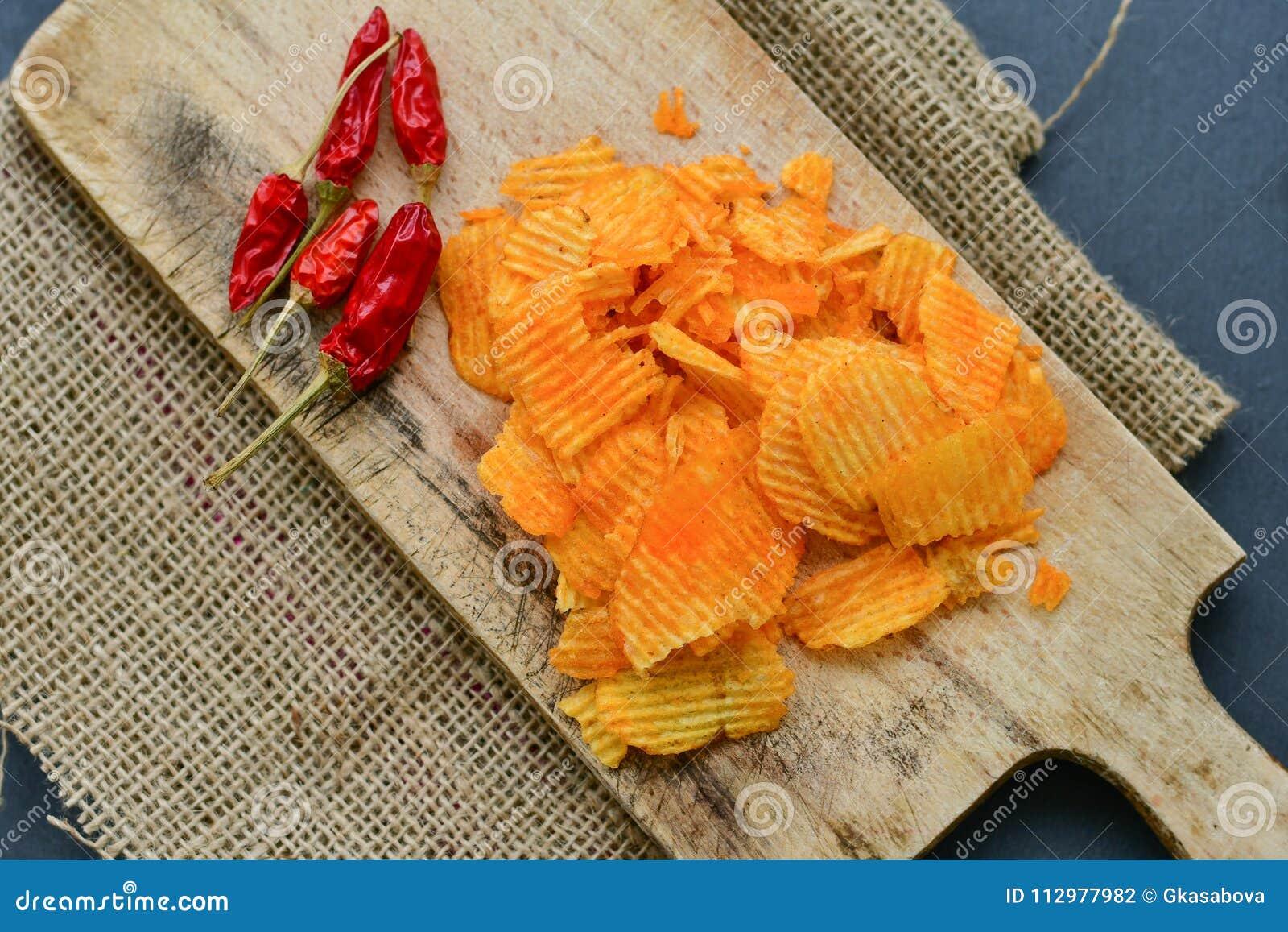 Paprika chips