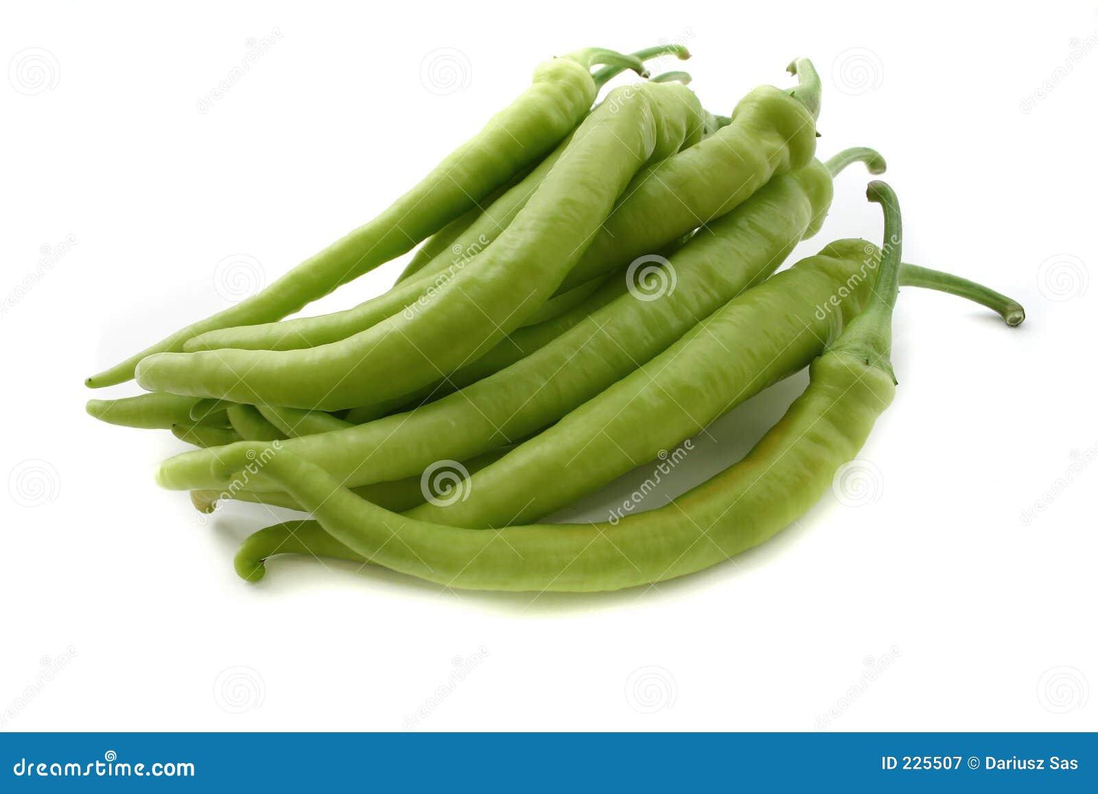 Paprika verdes