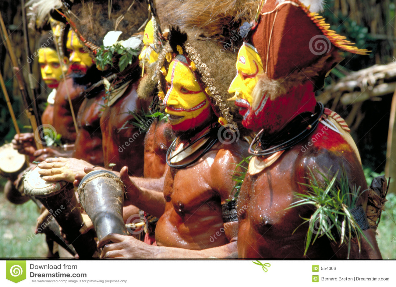 Papua Nueva Guinea, danza