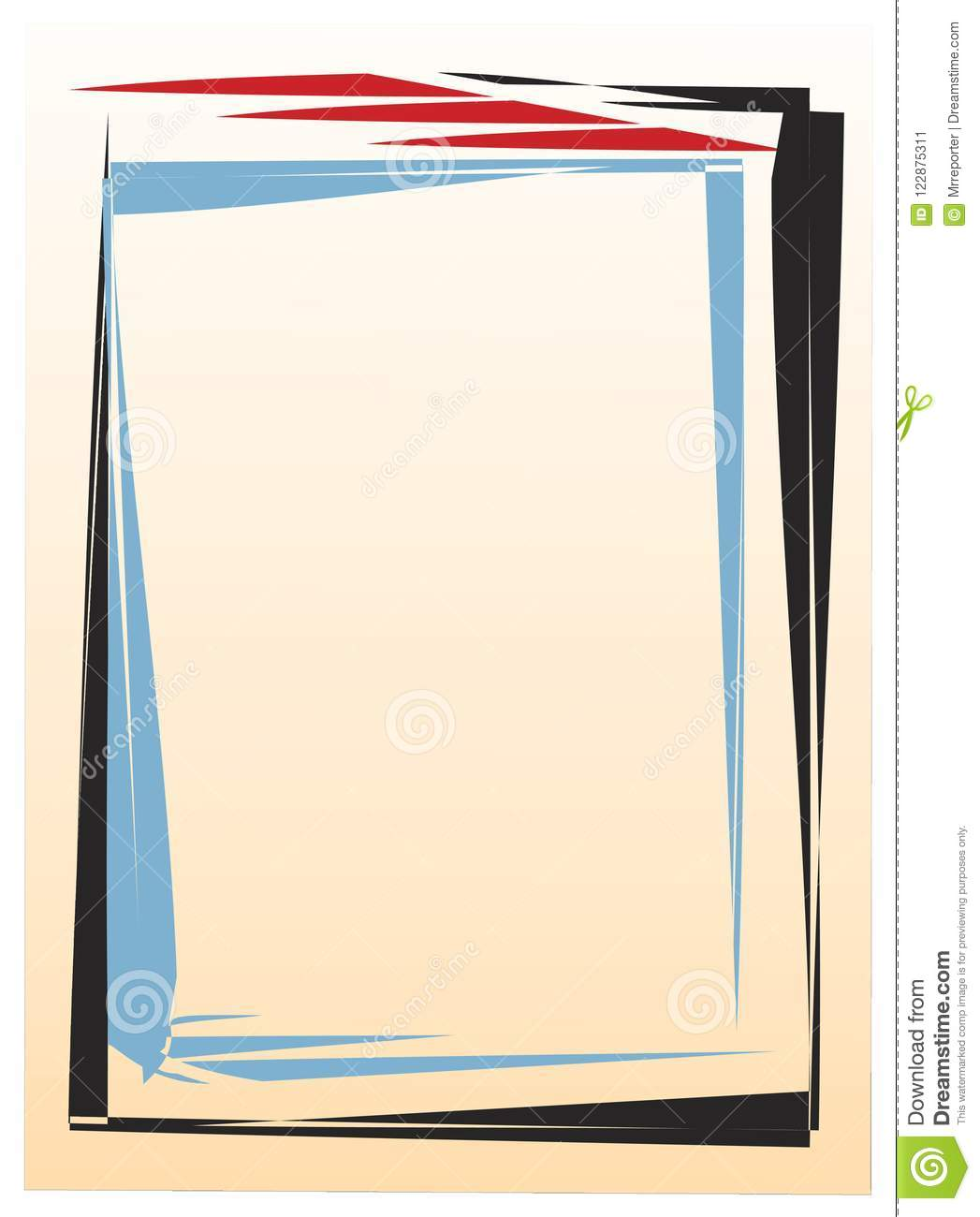 Papyrus stock vector. Illustration of frame, vector - 122875311