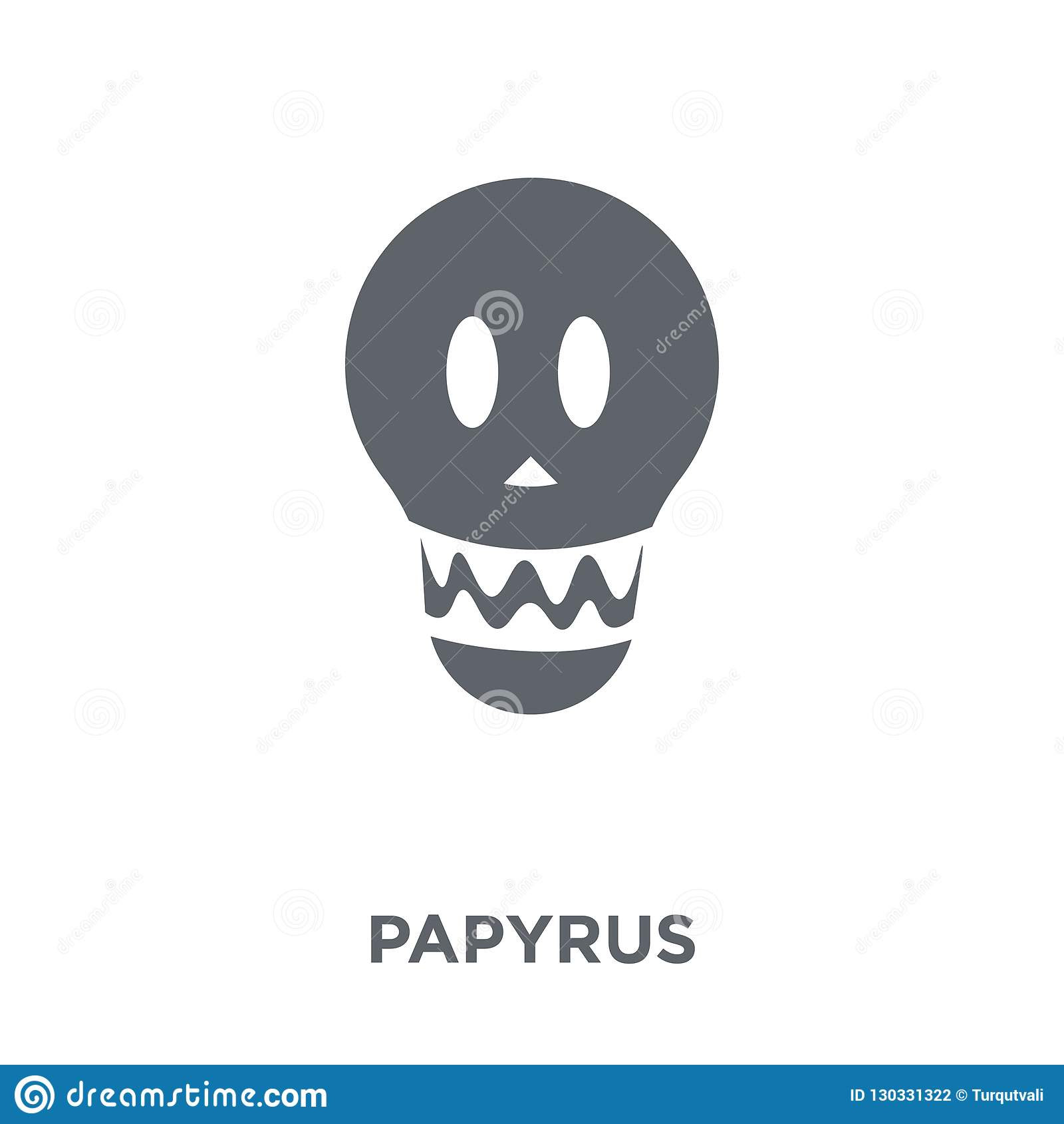 Papyrus icon from collection.