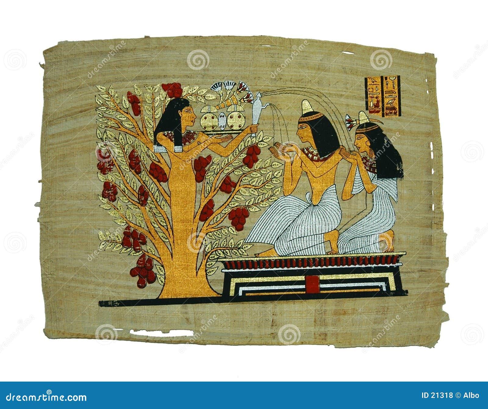 Papyrusanstrich