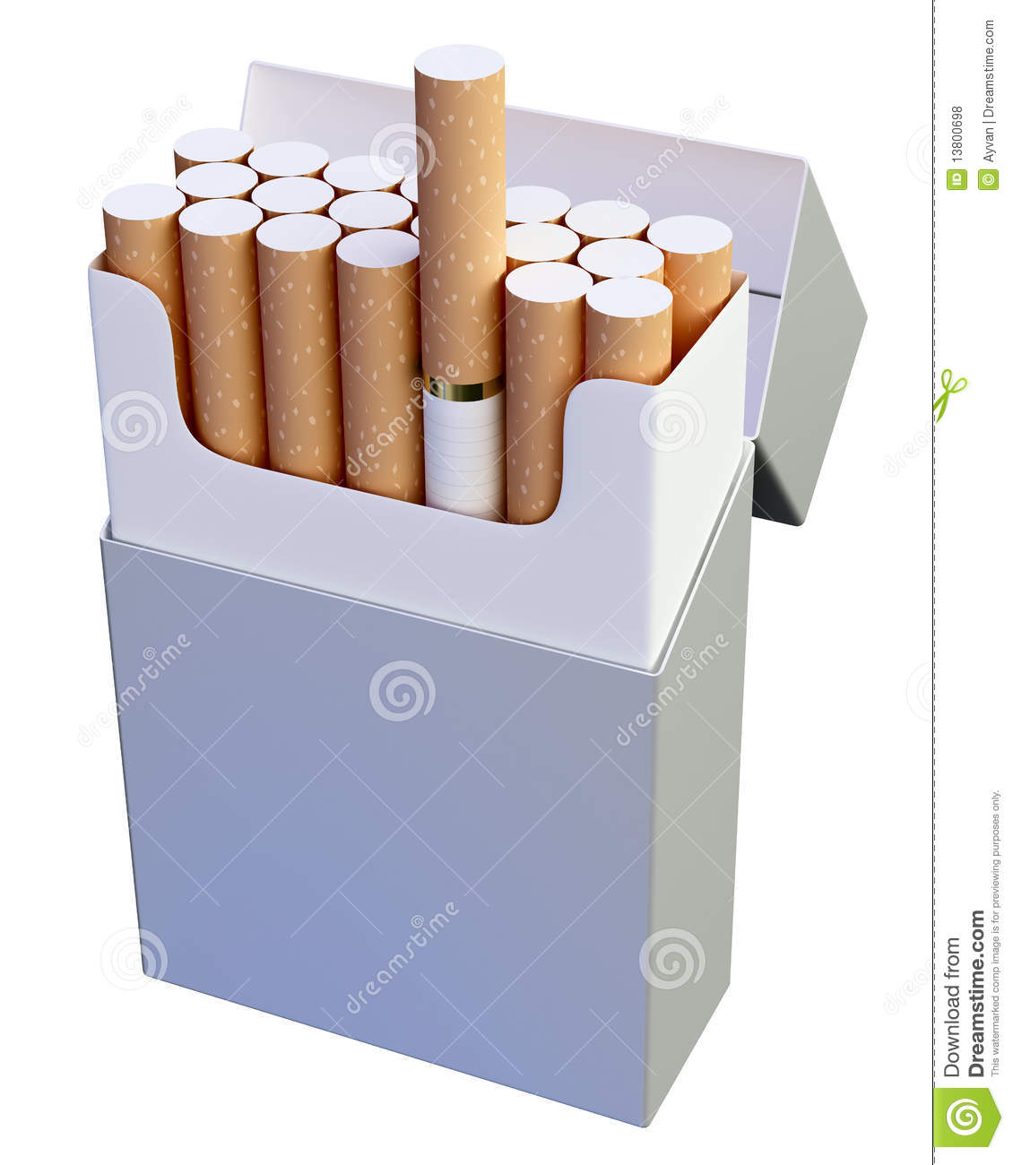 paquet de cigarette photo stock image du produit danger 13800698. Black Bedroom Furniture Sets. Home Design Ideas