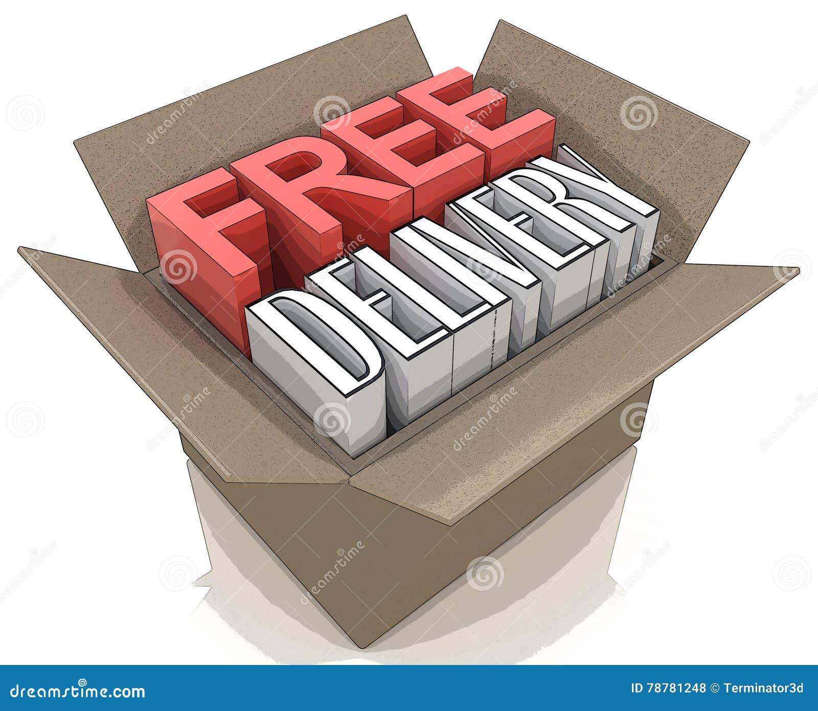Paquet gratuit de la livraison d embarquer le webshop en ligne d Internet