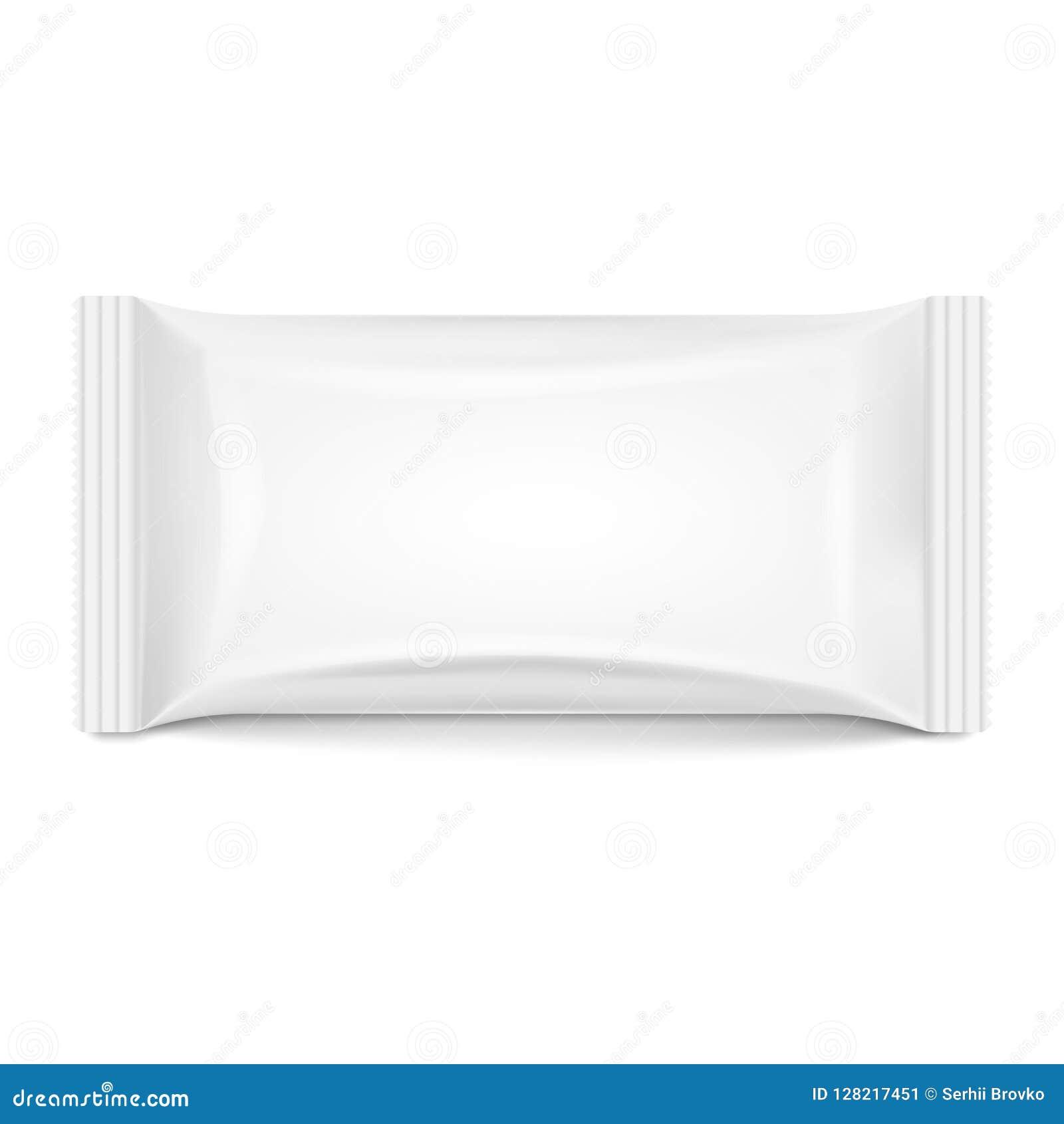 Paquete del flujo aislado en el fondo blanco Ilustración del vector