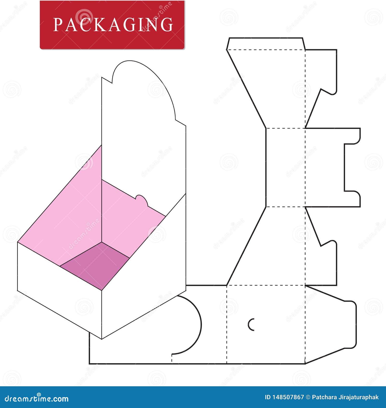 Paquete en estallido del paquete
