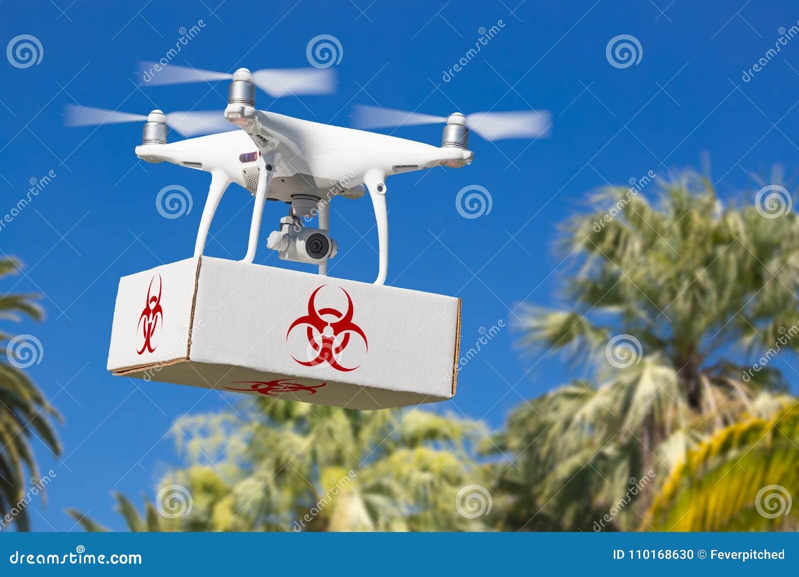 Paquete que lleva de aviones del abejón sin tripulación del sistema UAV Quadcopter