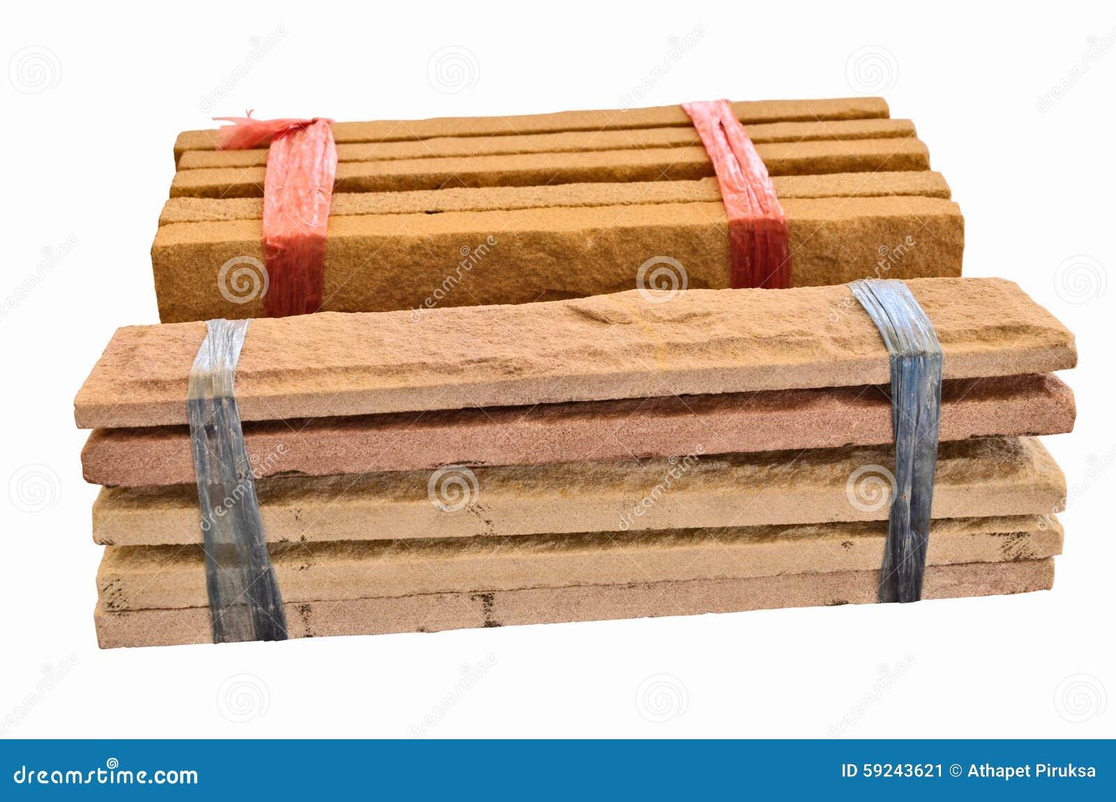 Paquetes de piedra del tablero de la arena