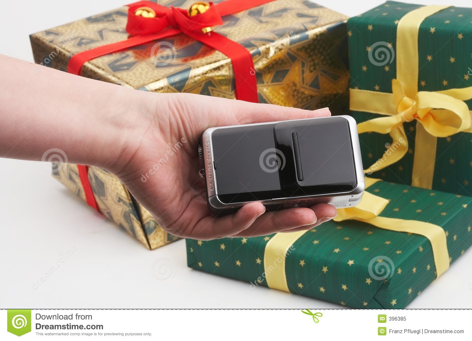 Paquets de cadeau d achats de Digicam