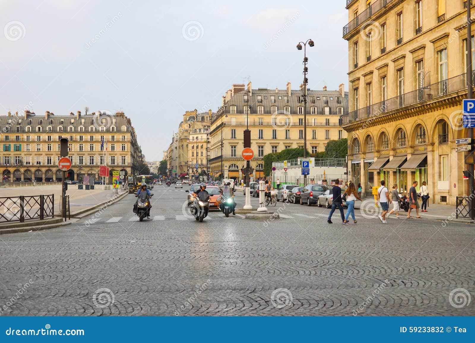 Download París fotografía editorial. Imagen de travesía, cobbled - 59233832