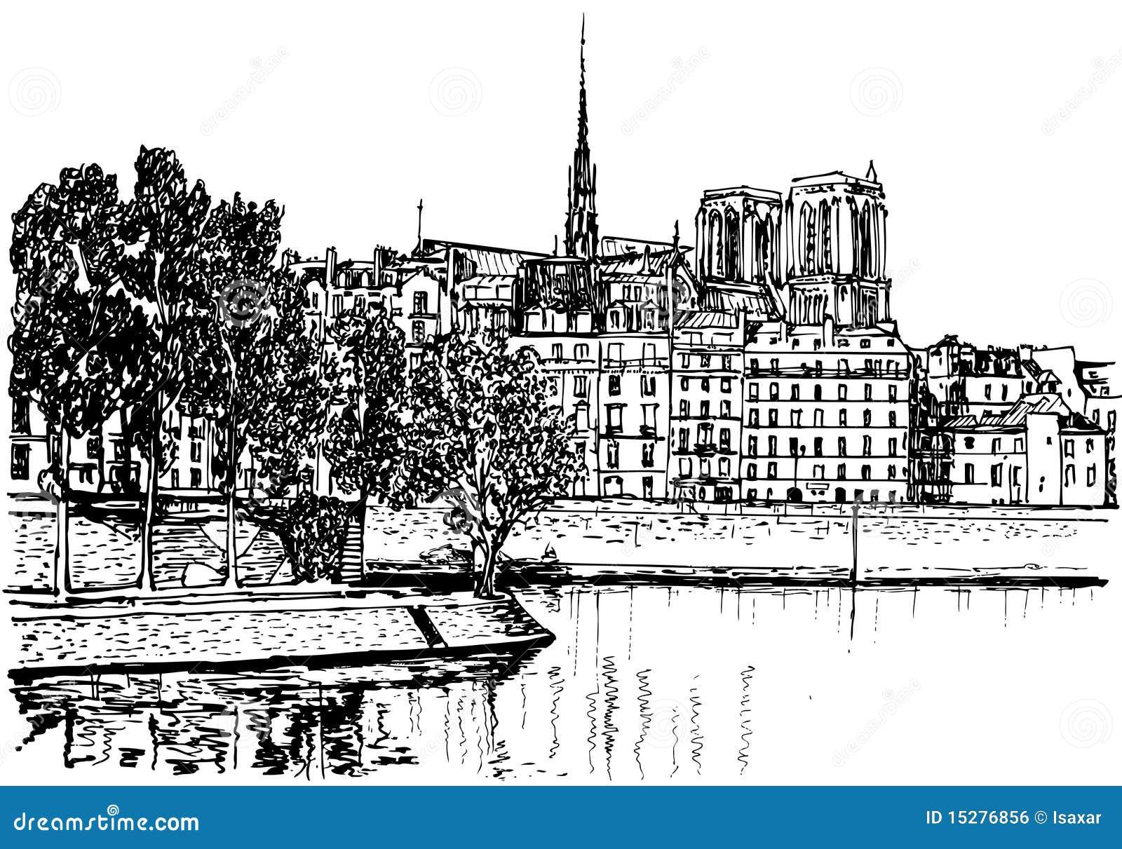 París - el la de Ile de cita