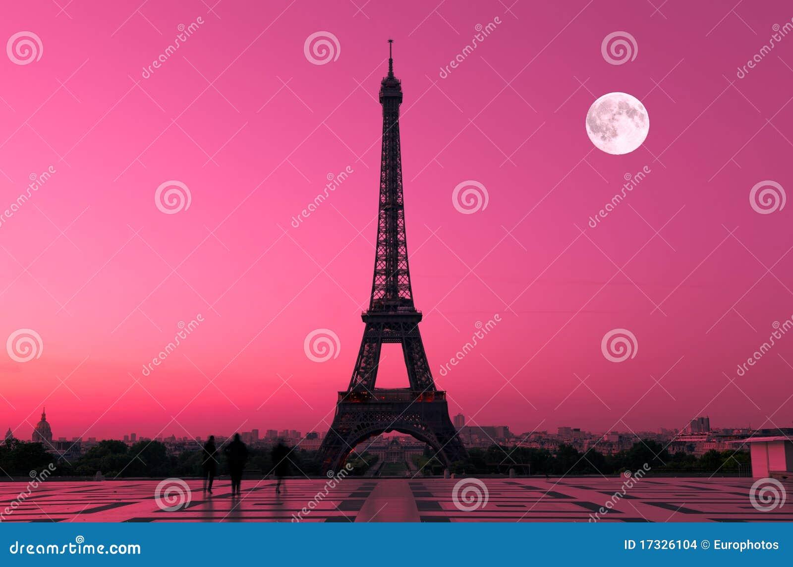 París en el amanecer