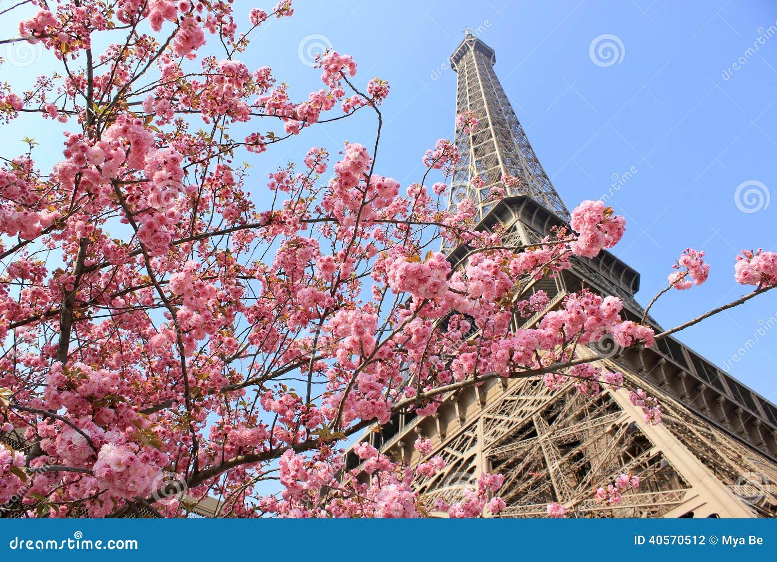 París en la primavera