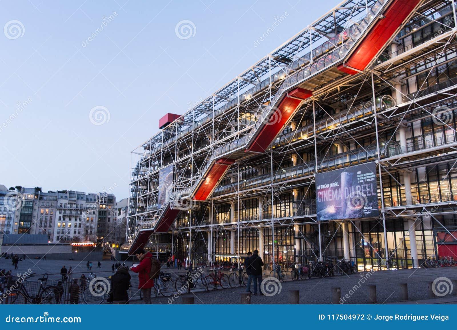 Paris Francia Abril De 2018 Fotografia Editorial Imagen De