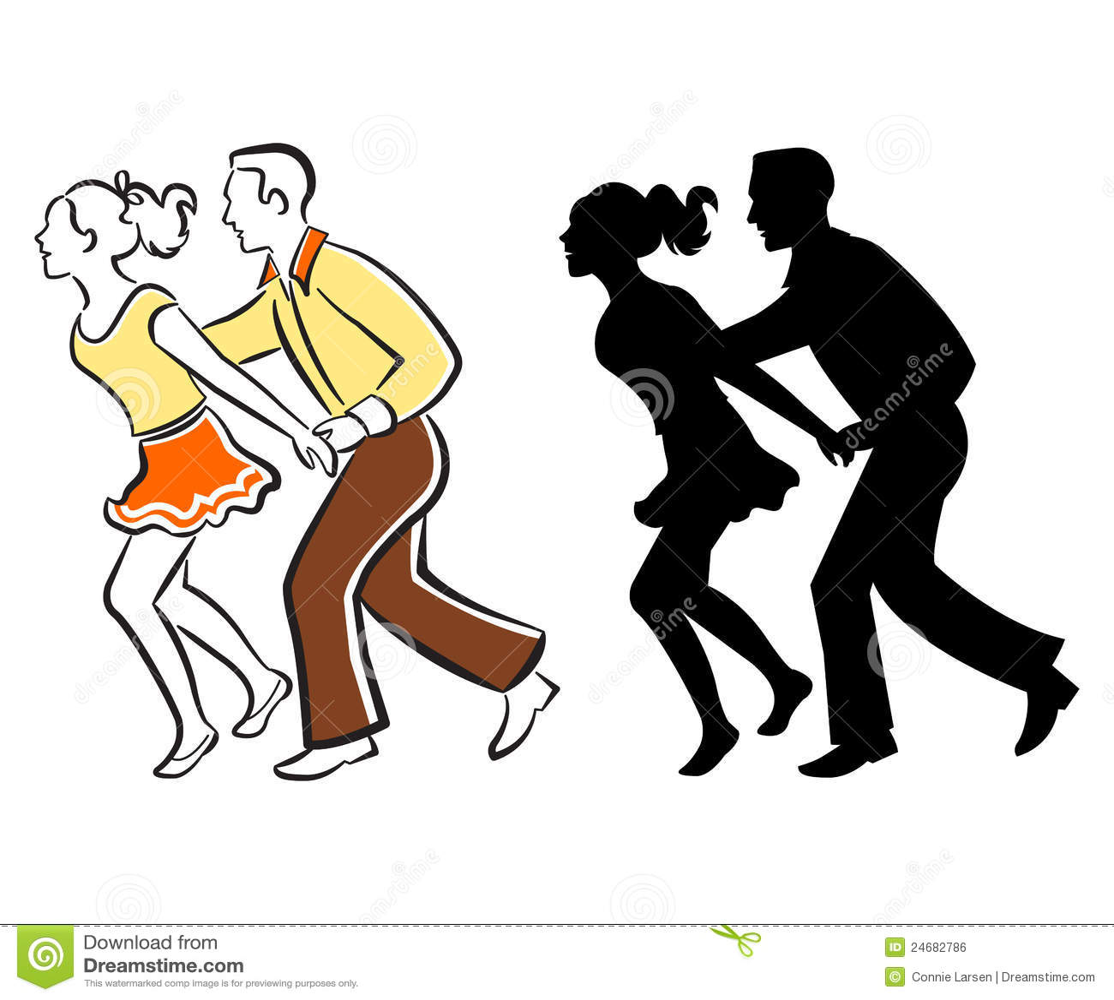 Par dansar swing