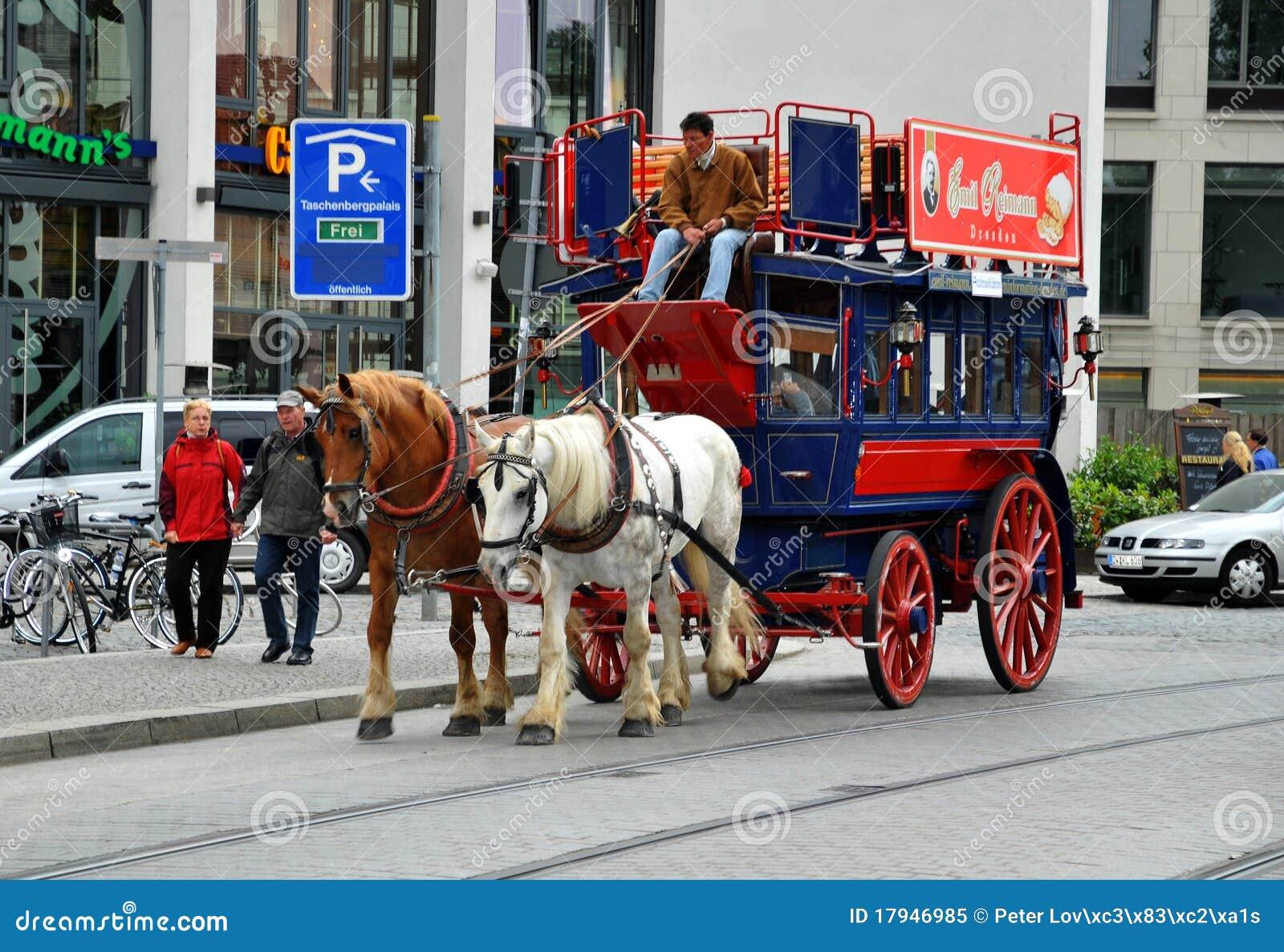 Par för vagnsdresden resa