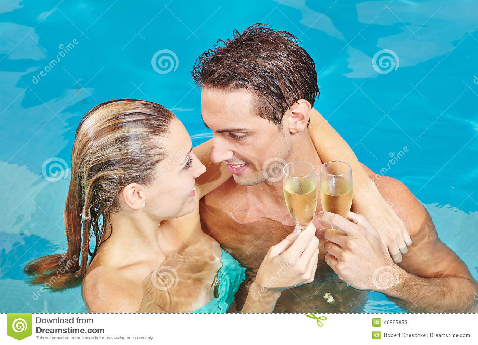 Par, i att rosta för simbassäng