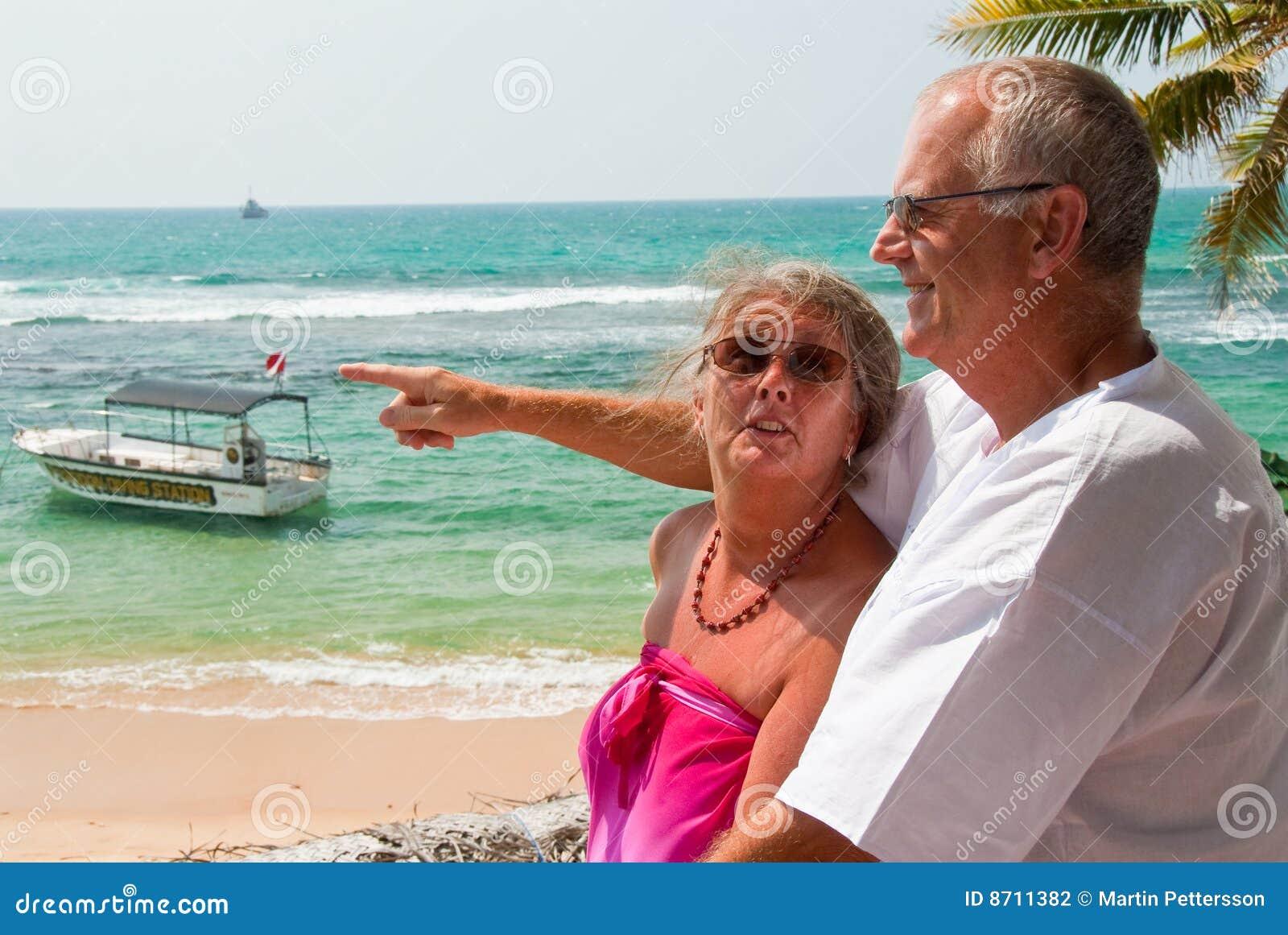 Par mature att peka för hav