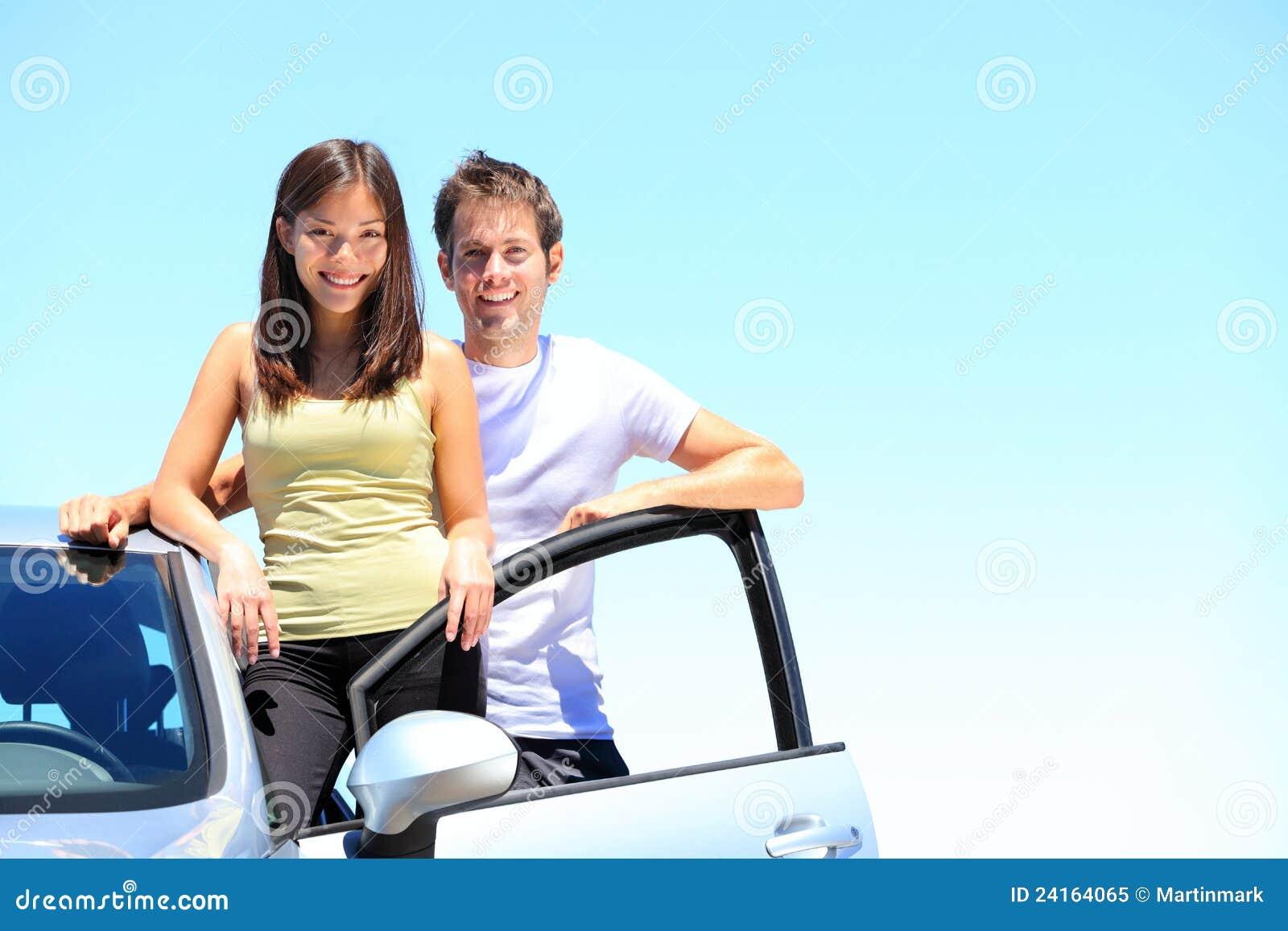 Par och ny bil