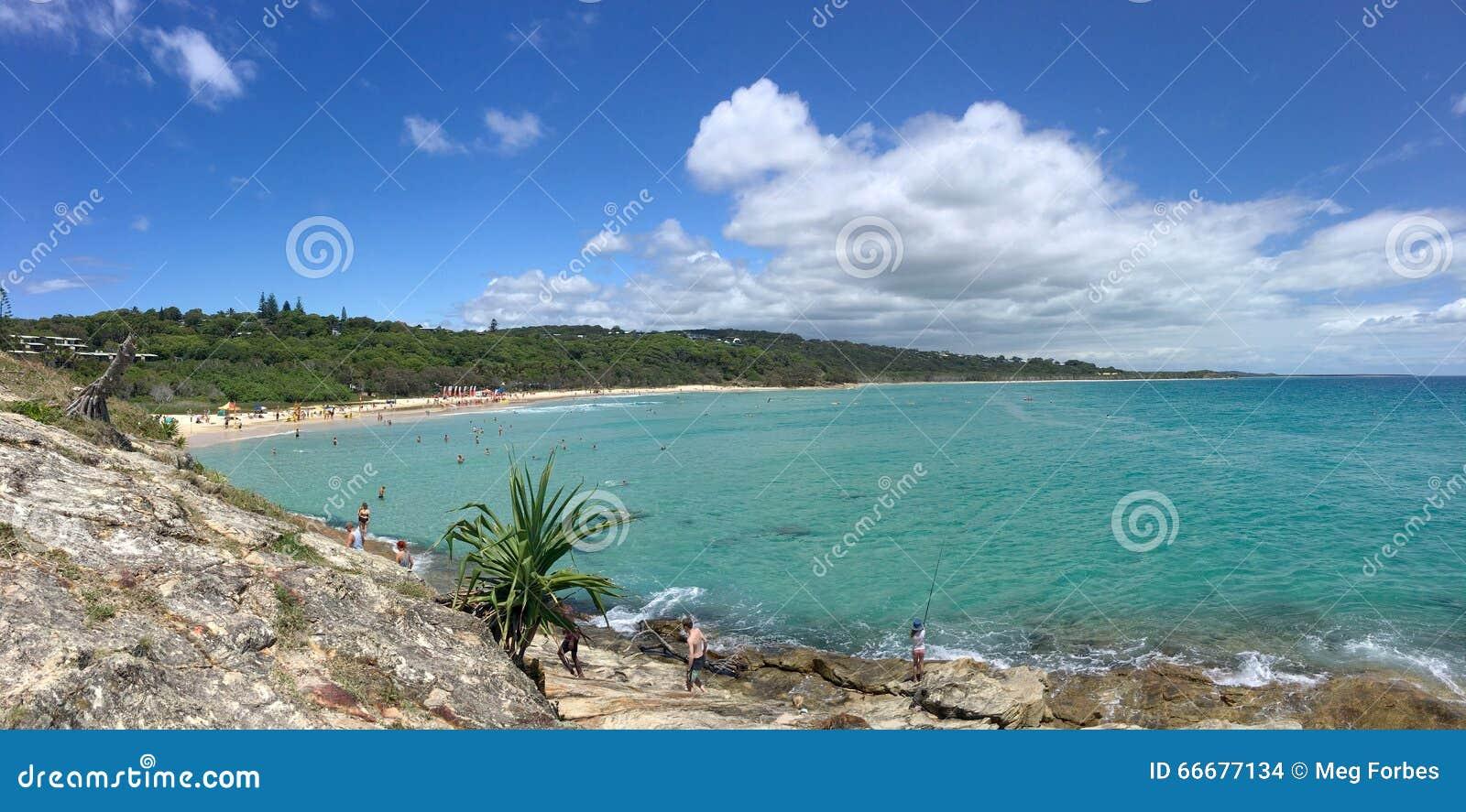 Paraíso australiano da praia
