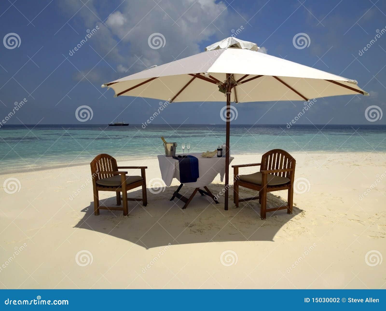 Paraíso de las vacaciones en los Maldives