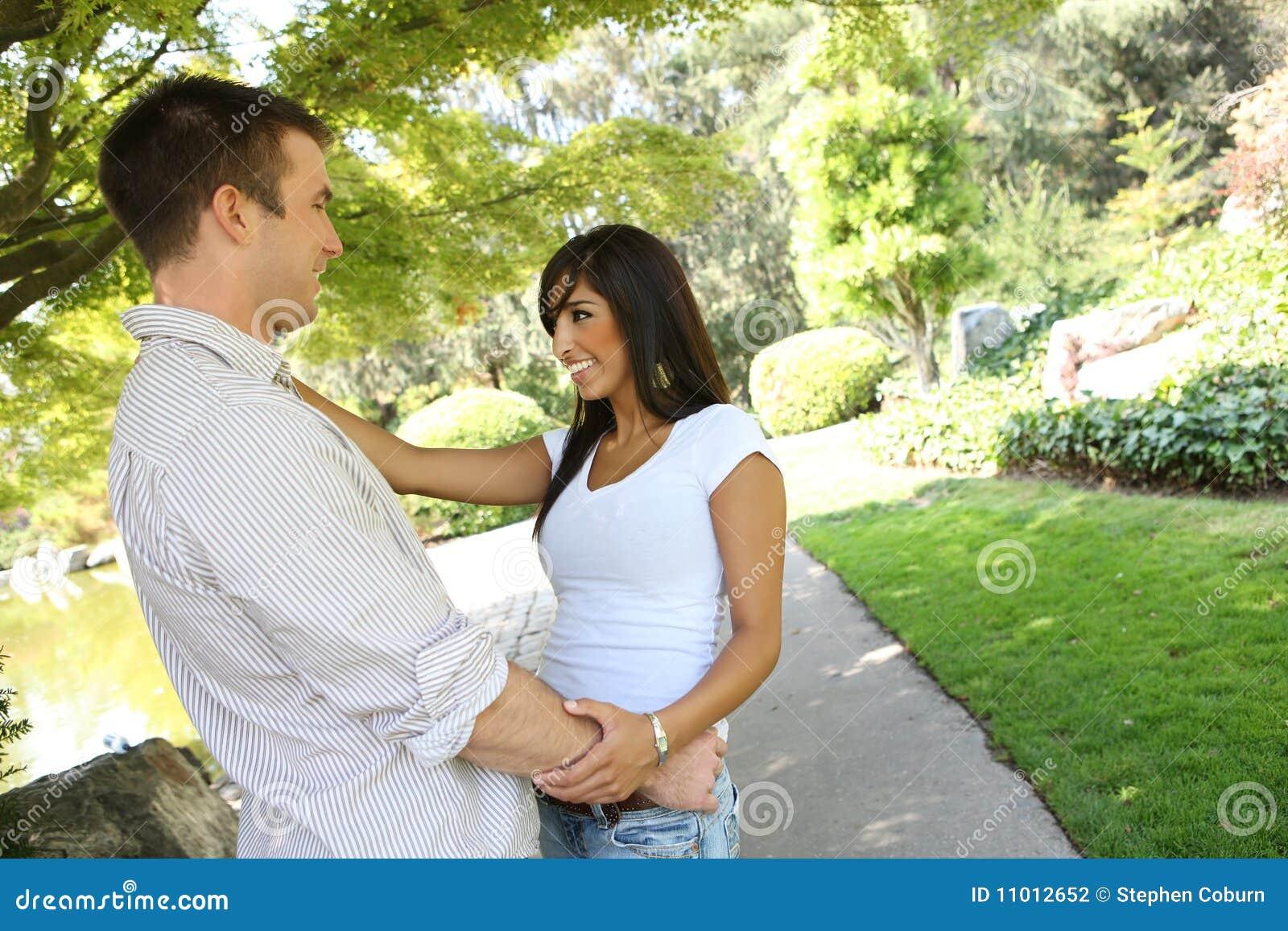 Para atrakcyjny park