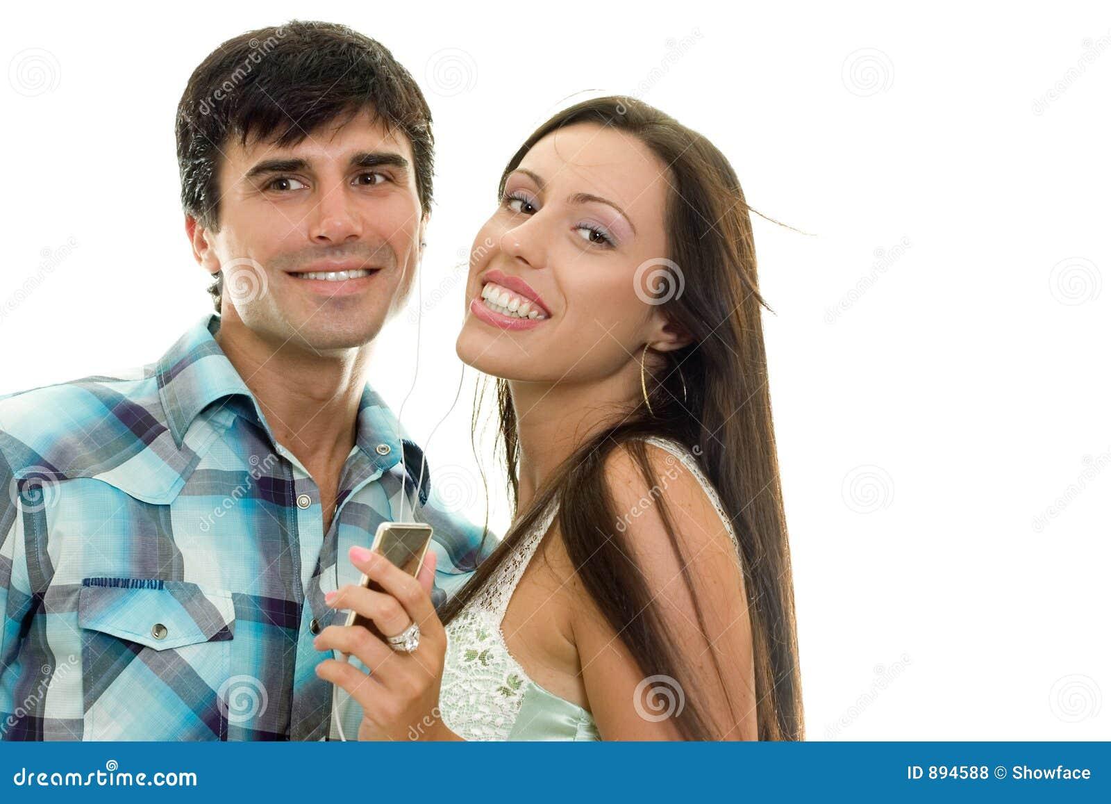 Para cieszyć się muzyka uśmiecha się razem