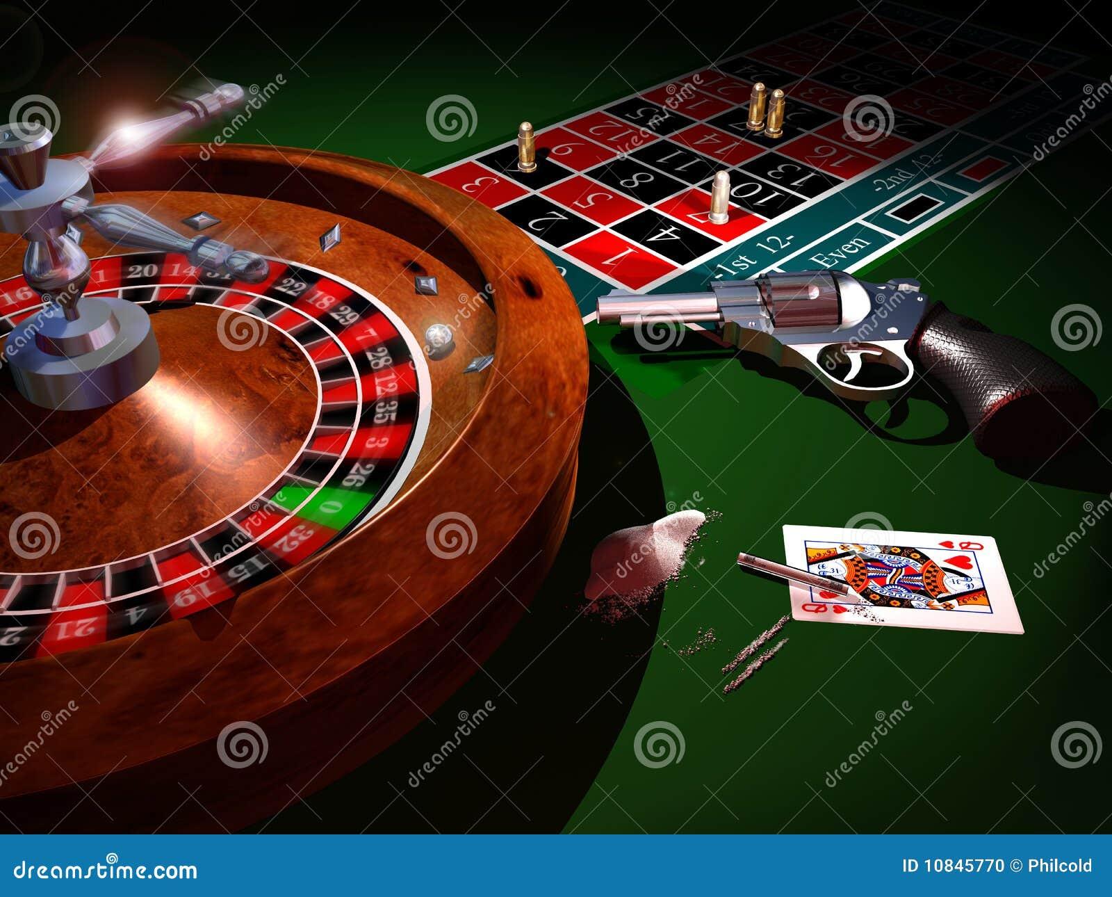 Russian roulette juego