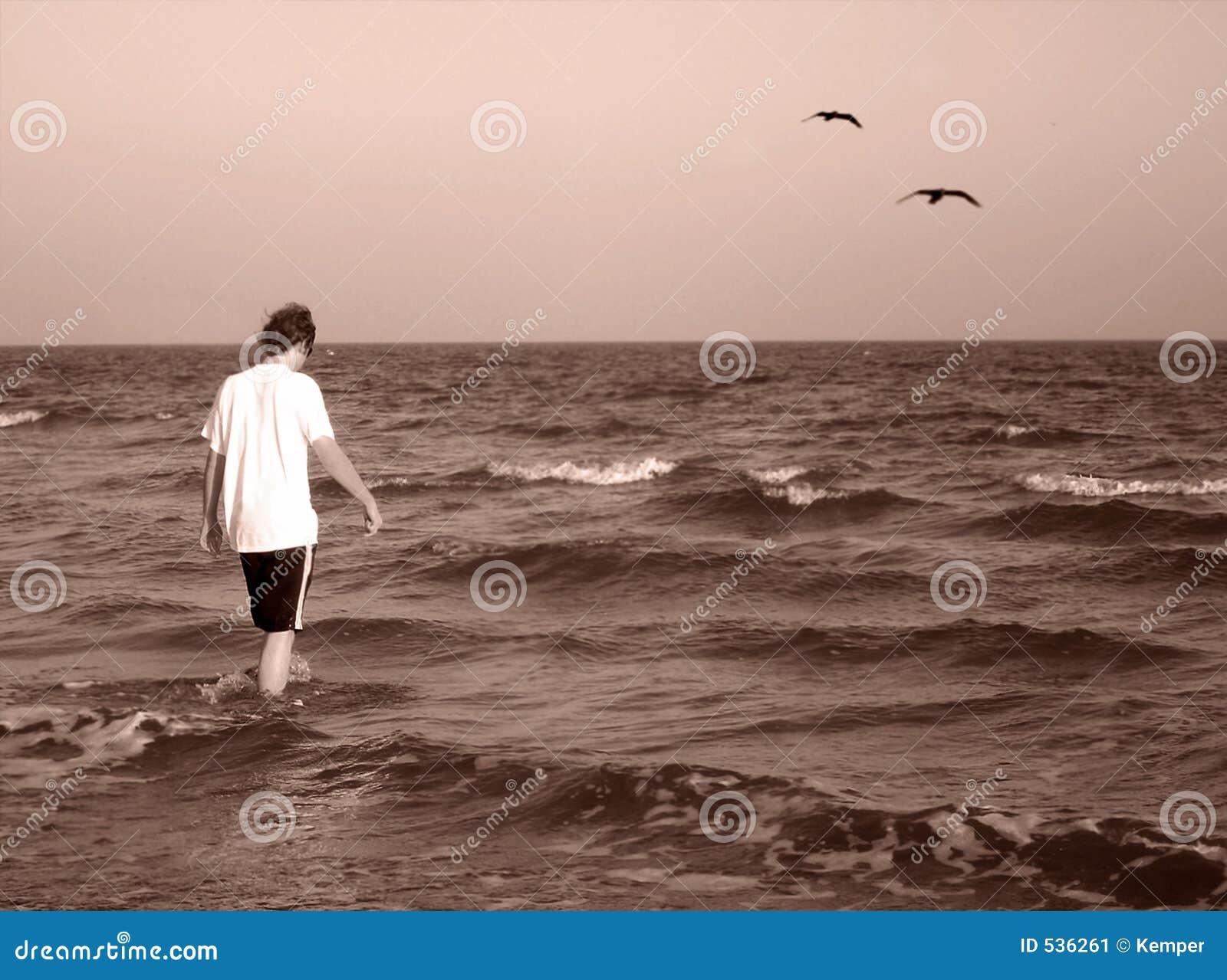 Para fora ao mar
