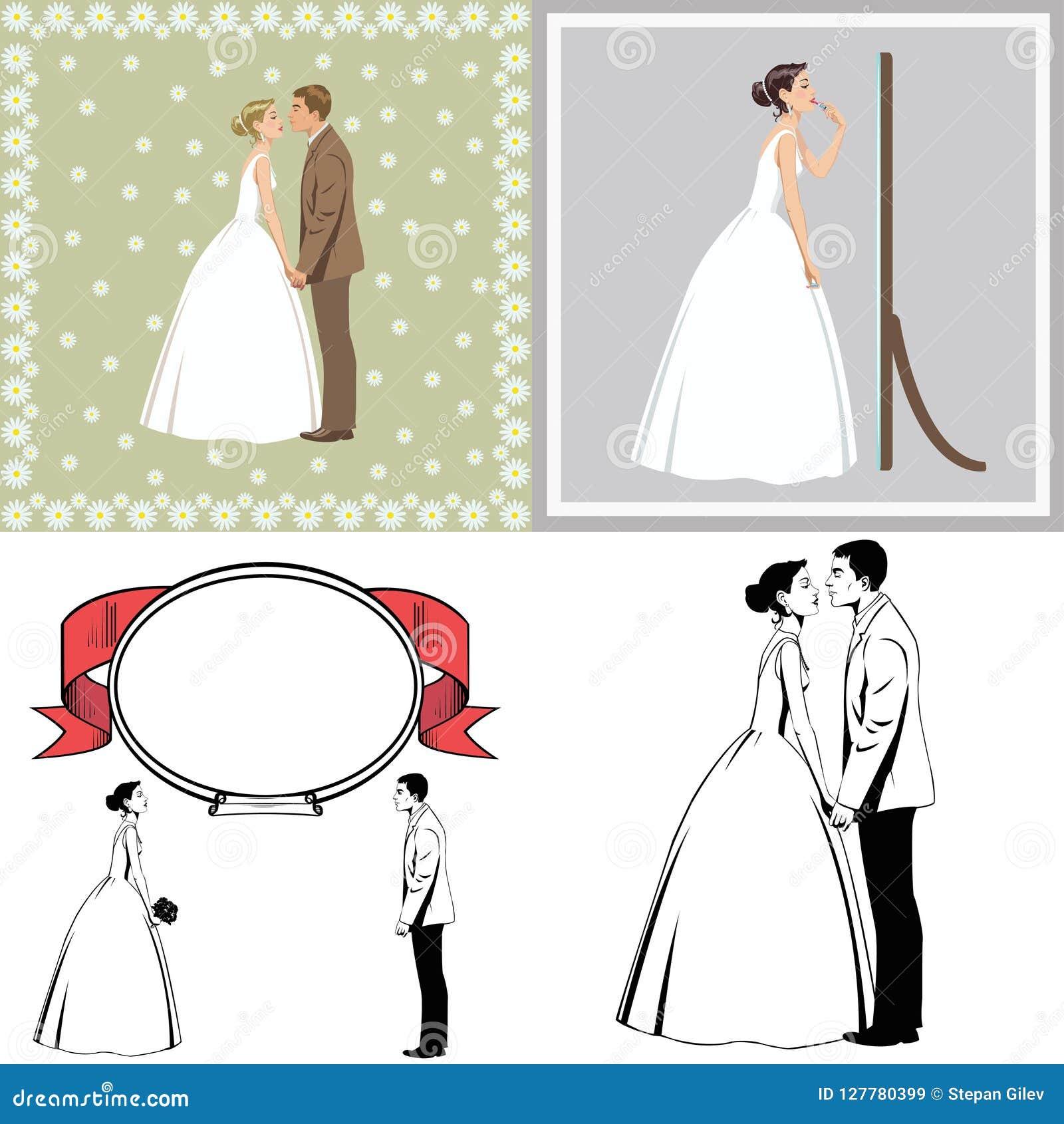 Para piękny nowożeńcy