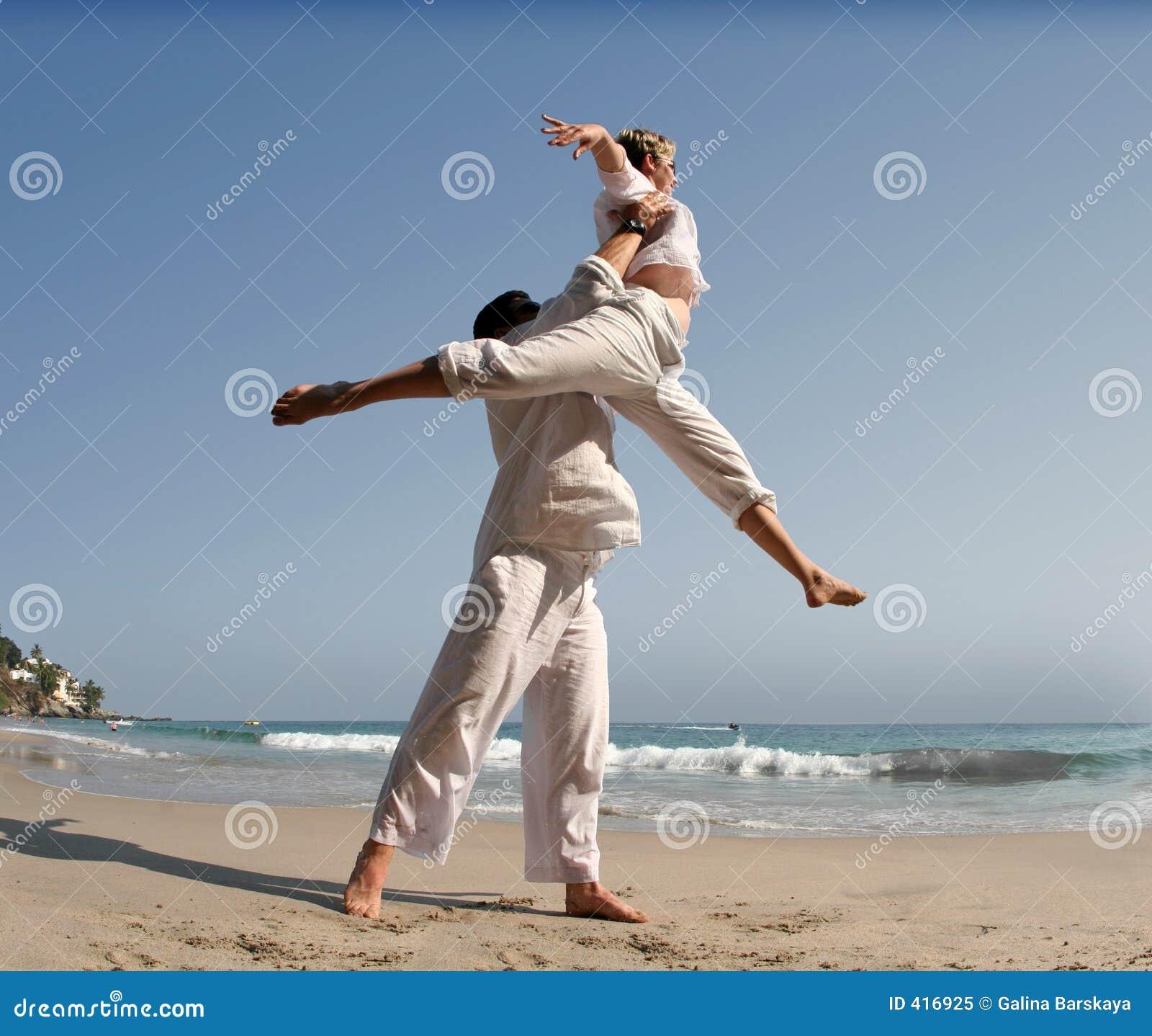 Para plażowa