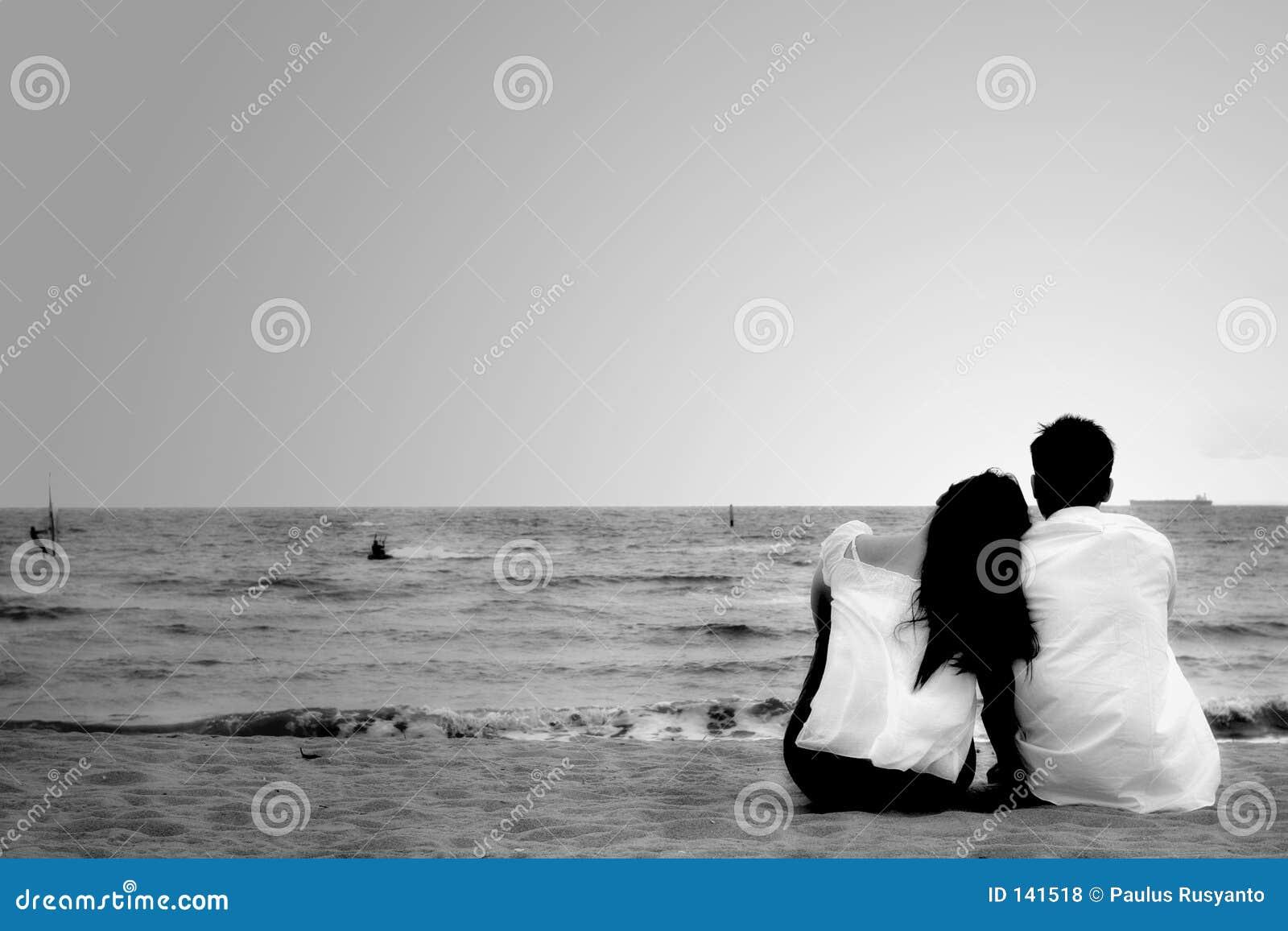 Download Para plażowa zdjęcie stock. Obraz złożonej z destination - 141518