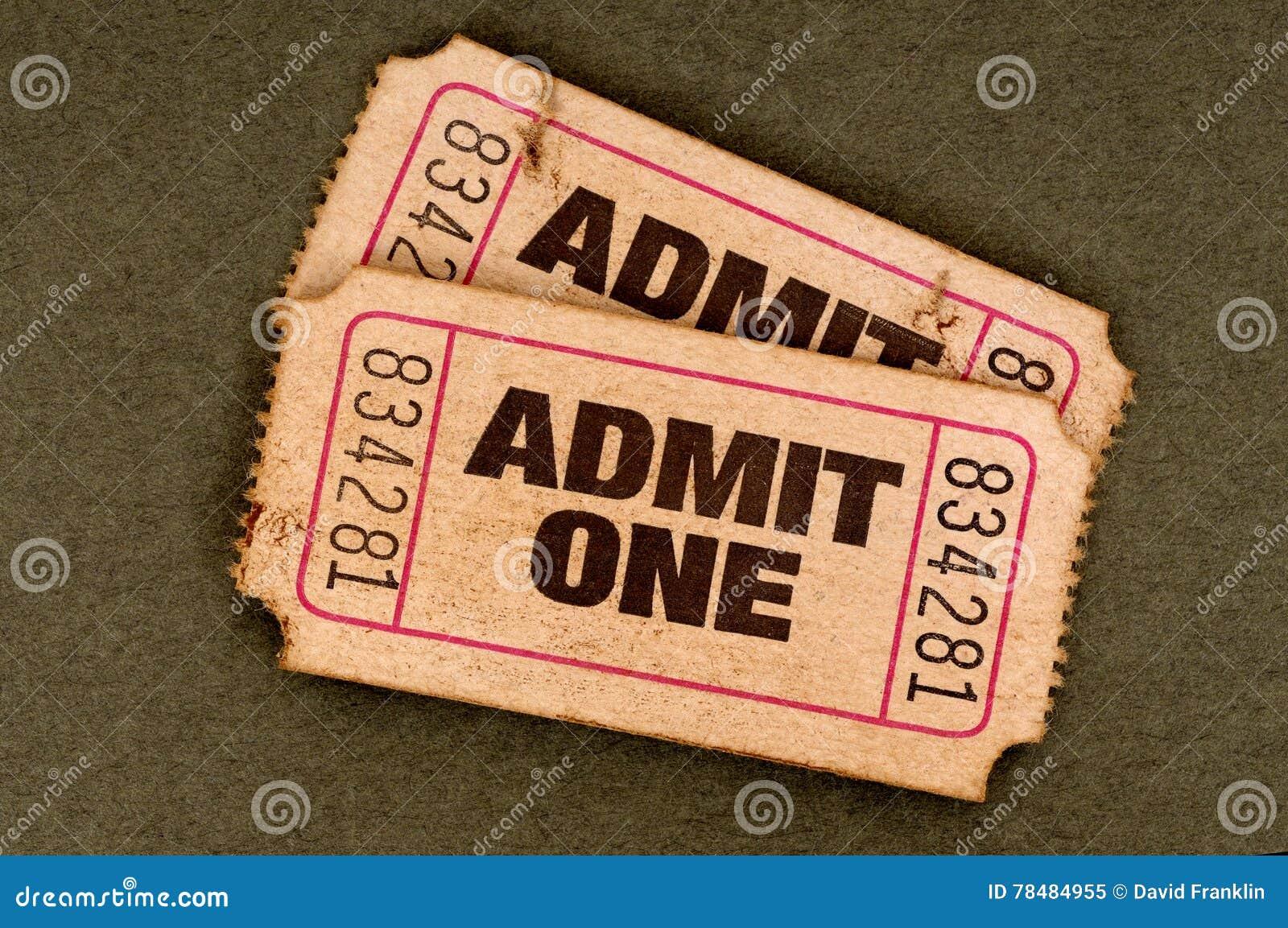 Para stary drzejący przyznaje jeden filmu bilety