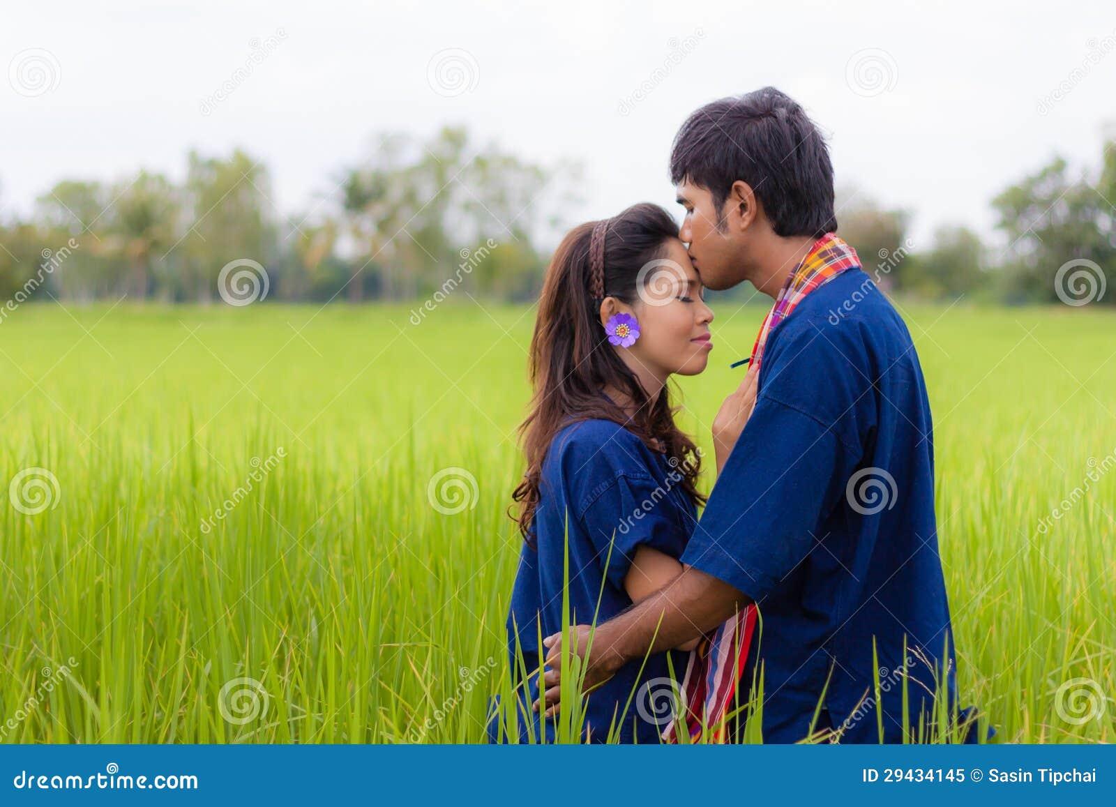 Para Tajlandzki rolnik