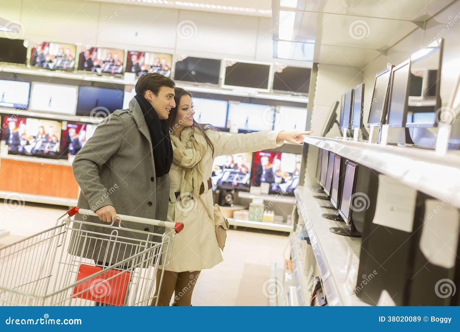 Para zakupy elektronika