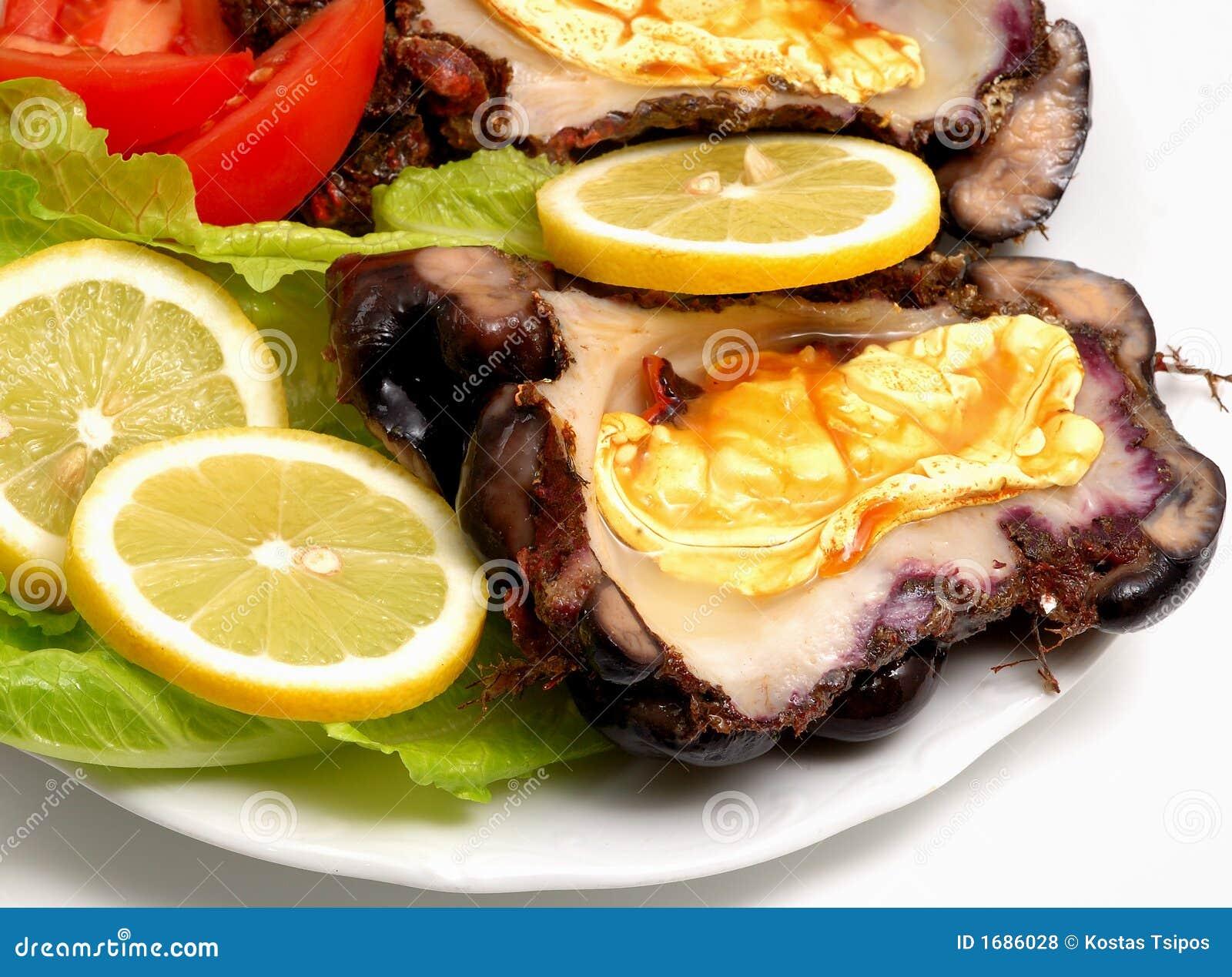 Paraboloïde grec de fruits de mer