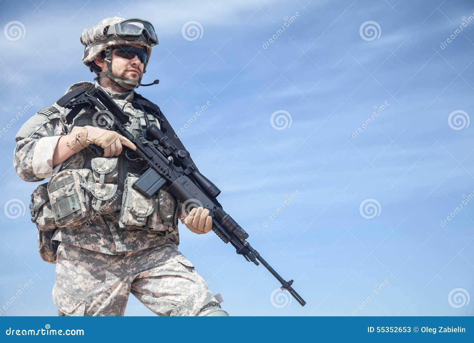 Paracaidista de Estados Unidos