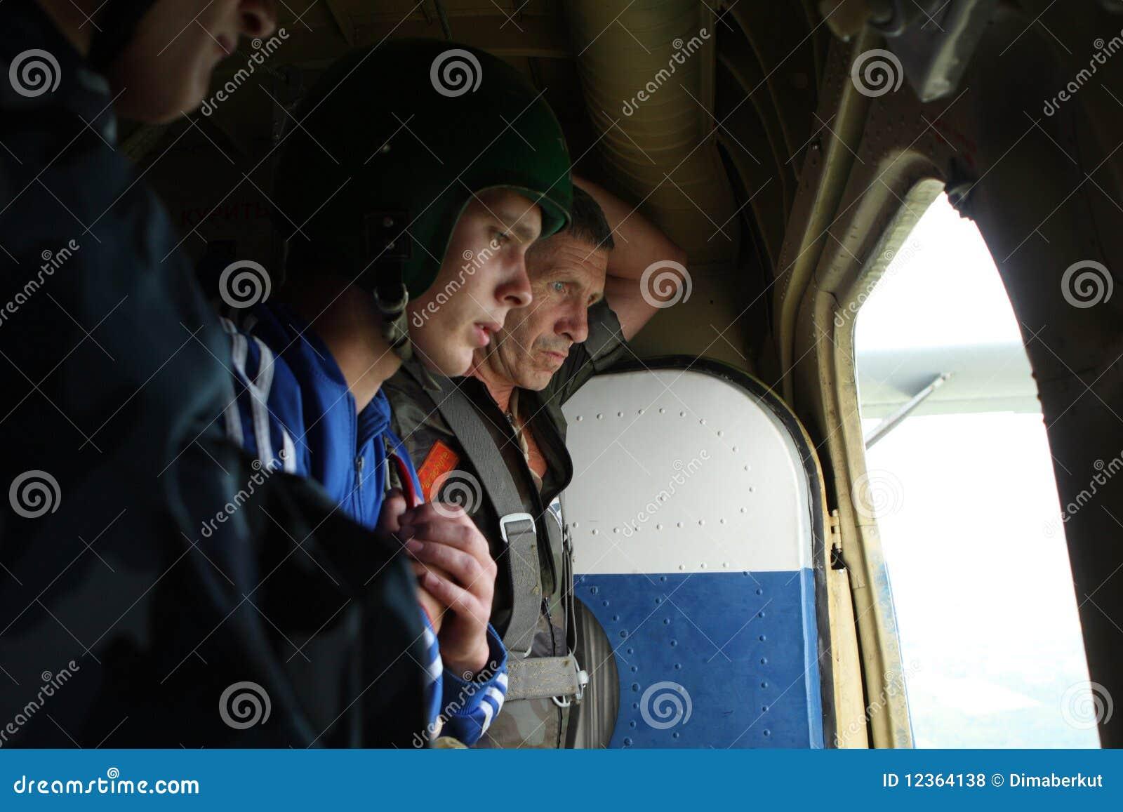 Paracaidistas de la preparación