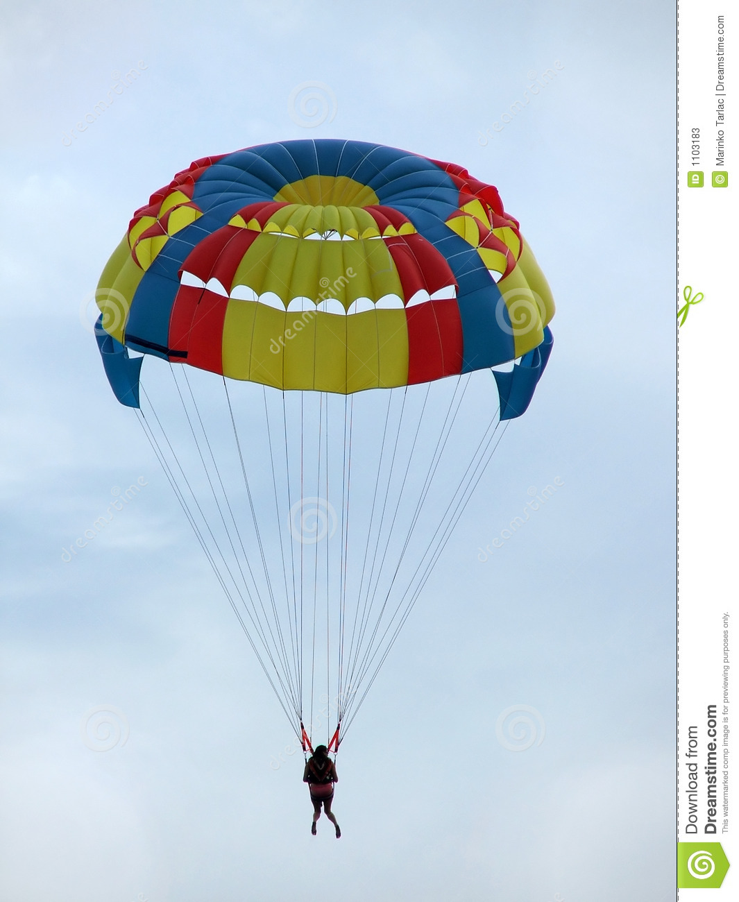 Parachute Stock Photos  Image  1103183