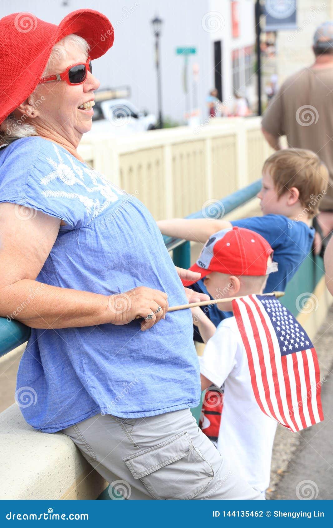 Parada americana do Dia da Independ?ncia