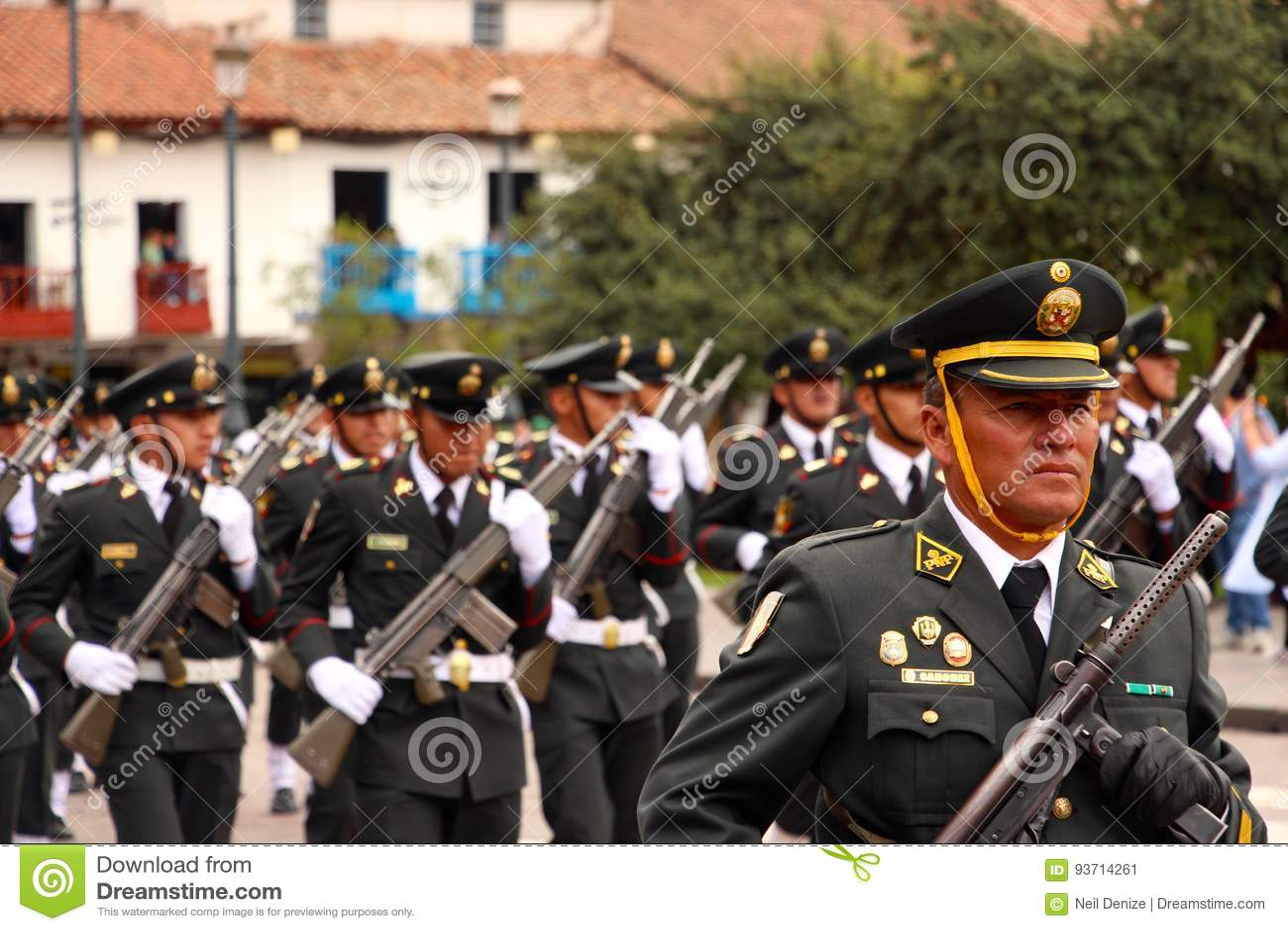 Parada de marcha Arequipa de domingo