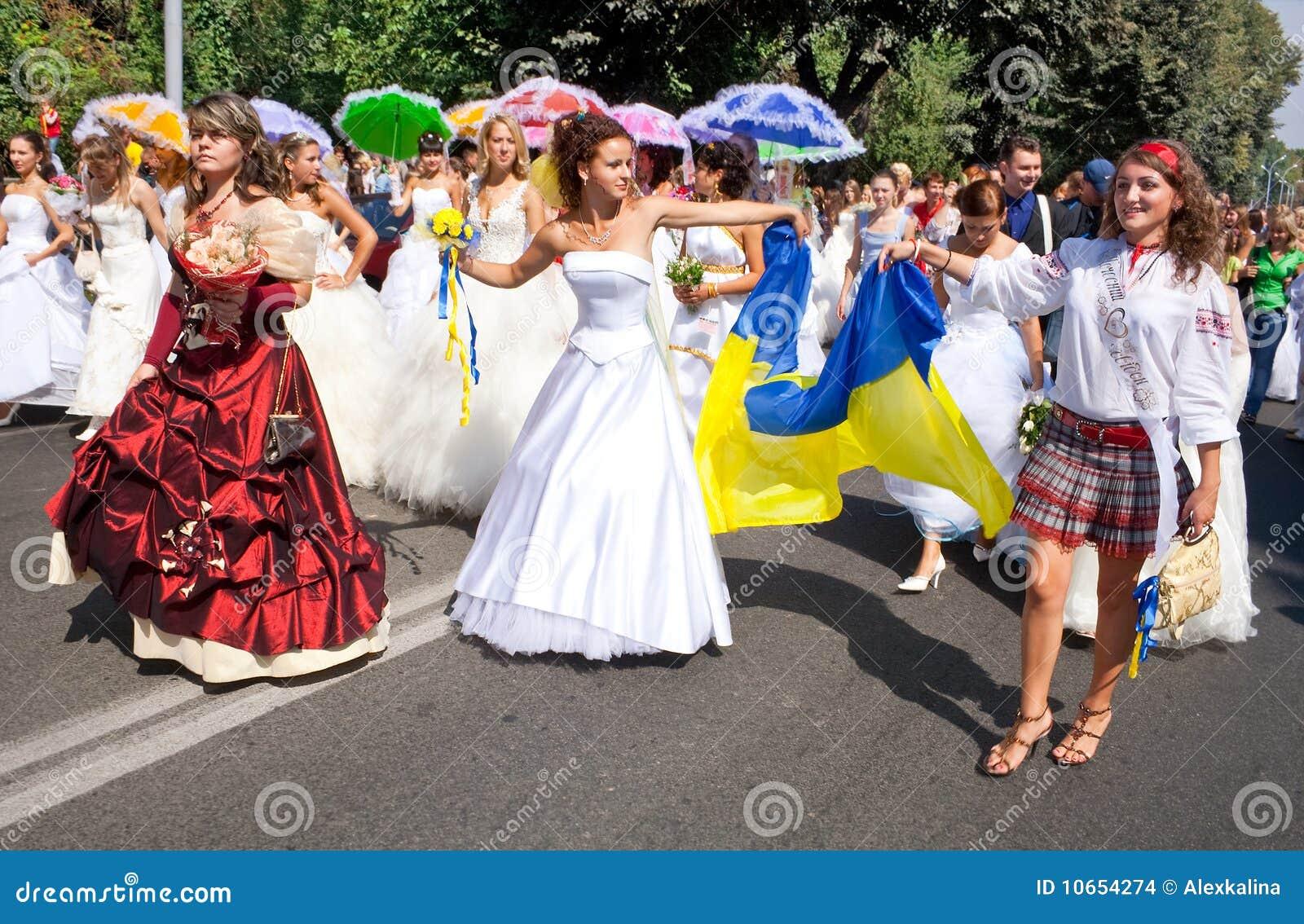 City-of-brides Nikolaev city,