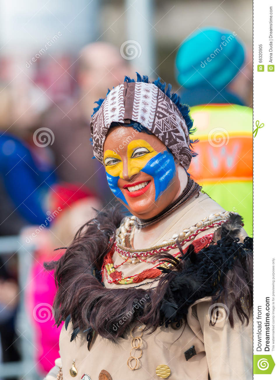 Parade Fasching German Carnival Nuremberg Editorial Image Image Of