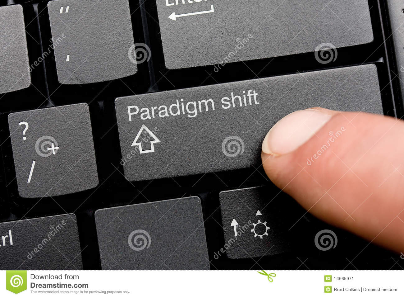 a paradigm shift caused by the Paradigms are essentially a collection of your thoughts, feelings, and actions our paradigms go so deep and.
